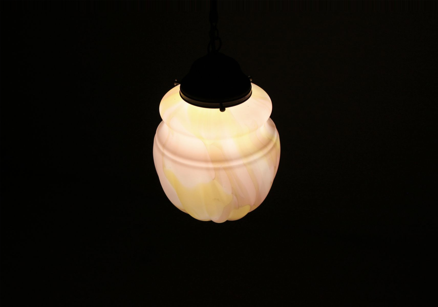 light period degue degu ceiling hexagonal opalescent glass ceilings deco and moulded suspension metal art