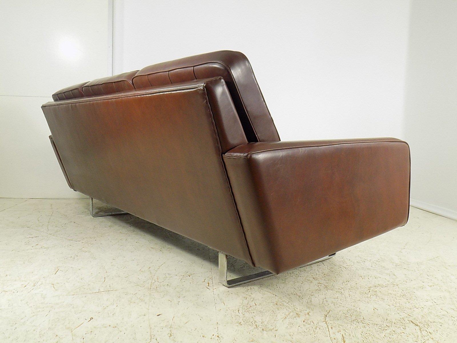 deutsches vintage 3 sitzer sofa 1970er bei pamono kaufen. Black Bedroom Furniture Sets. Home Design Ideas