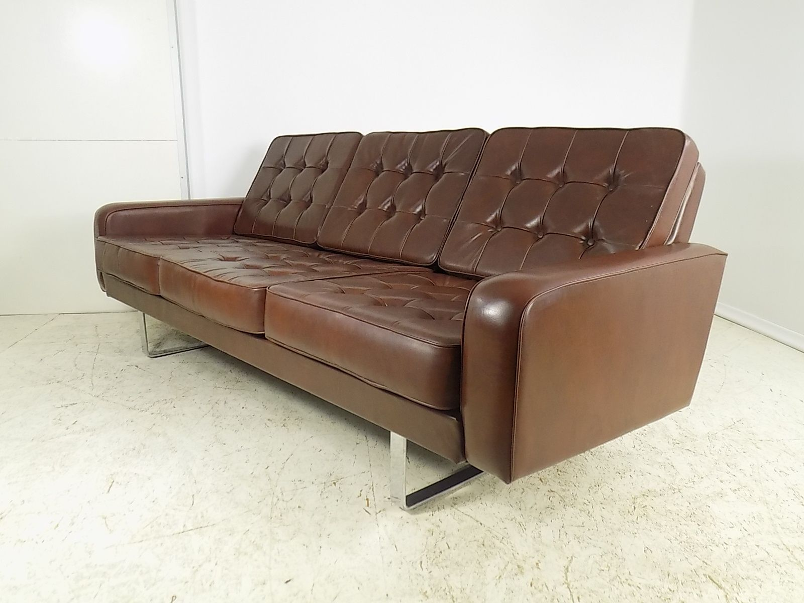 deutsches vintage 3 sitzer sofa 1970er bei pamono kaufen. Black Bedroom Furniture Sets. Home Design Ideas