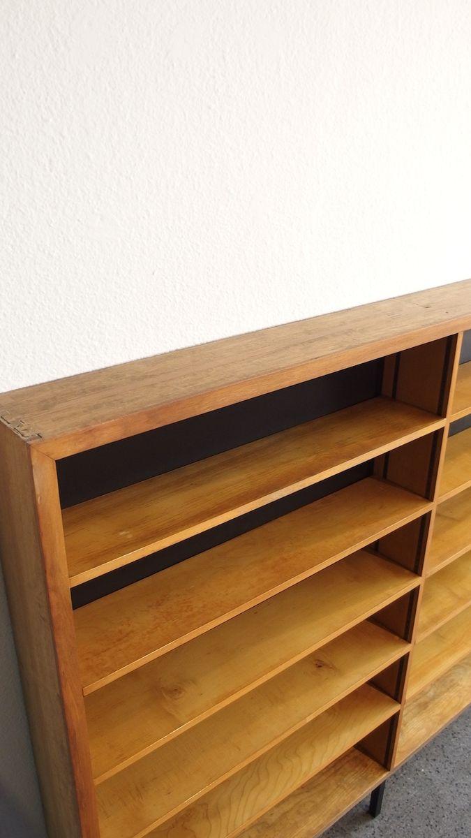 holzfurnier apotheken regal 1950er bei pamono kaufen. Black Bedroom Furniture Sets. Home Design Ideas
