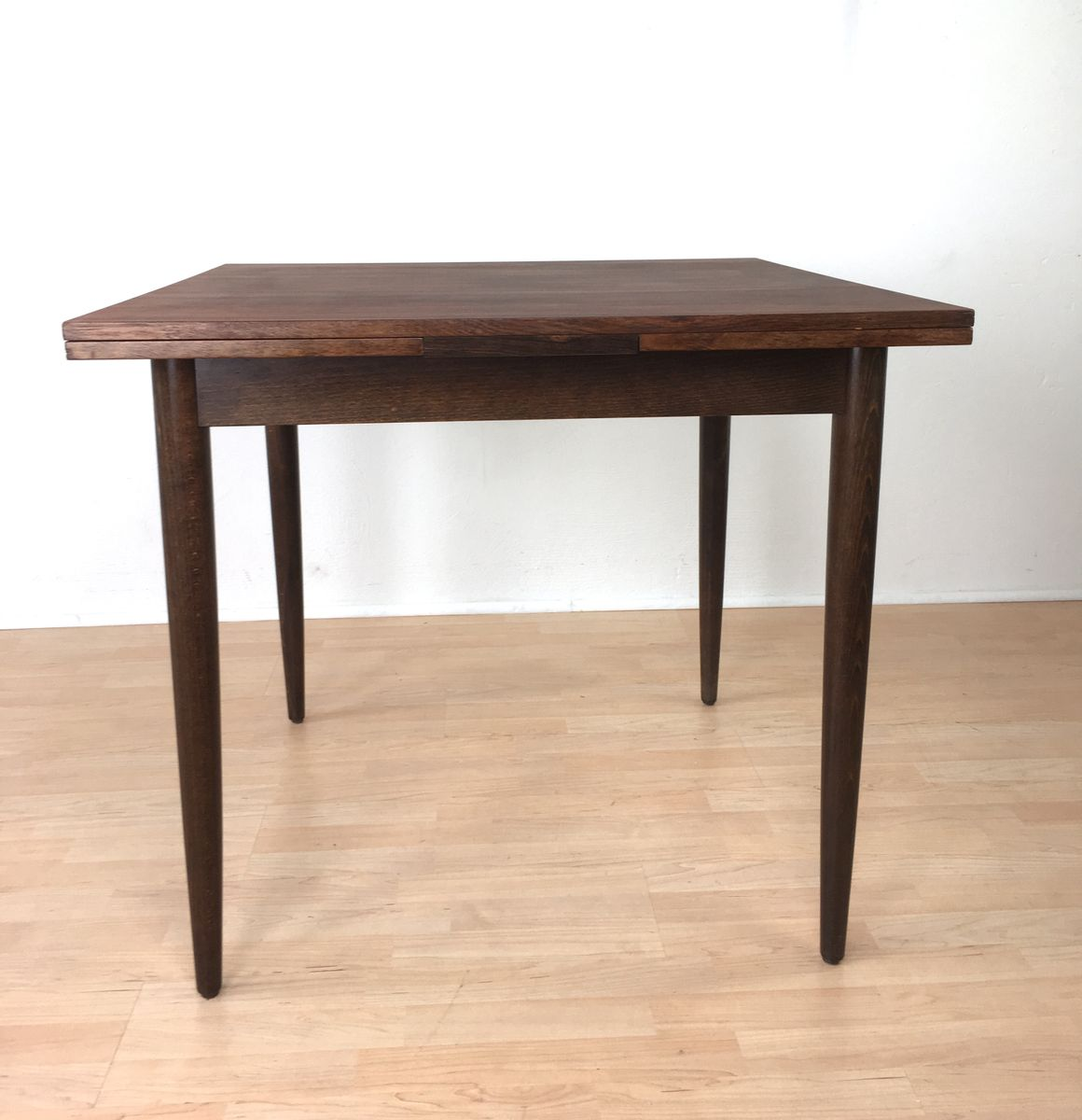 mid century rio rosewood dining table from l bke 1960s. Black Bedroom Furniture Sets. Home Design Ideas