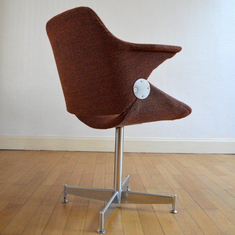 Schreibtischstuhl 1950er bei pamono kaufen for Schreibtischstuhl skandinavisch