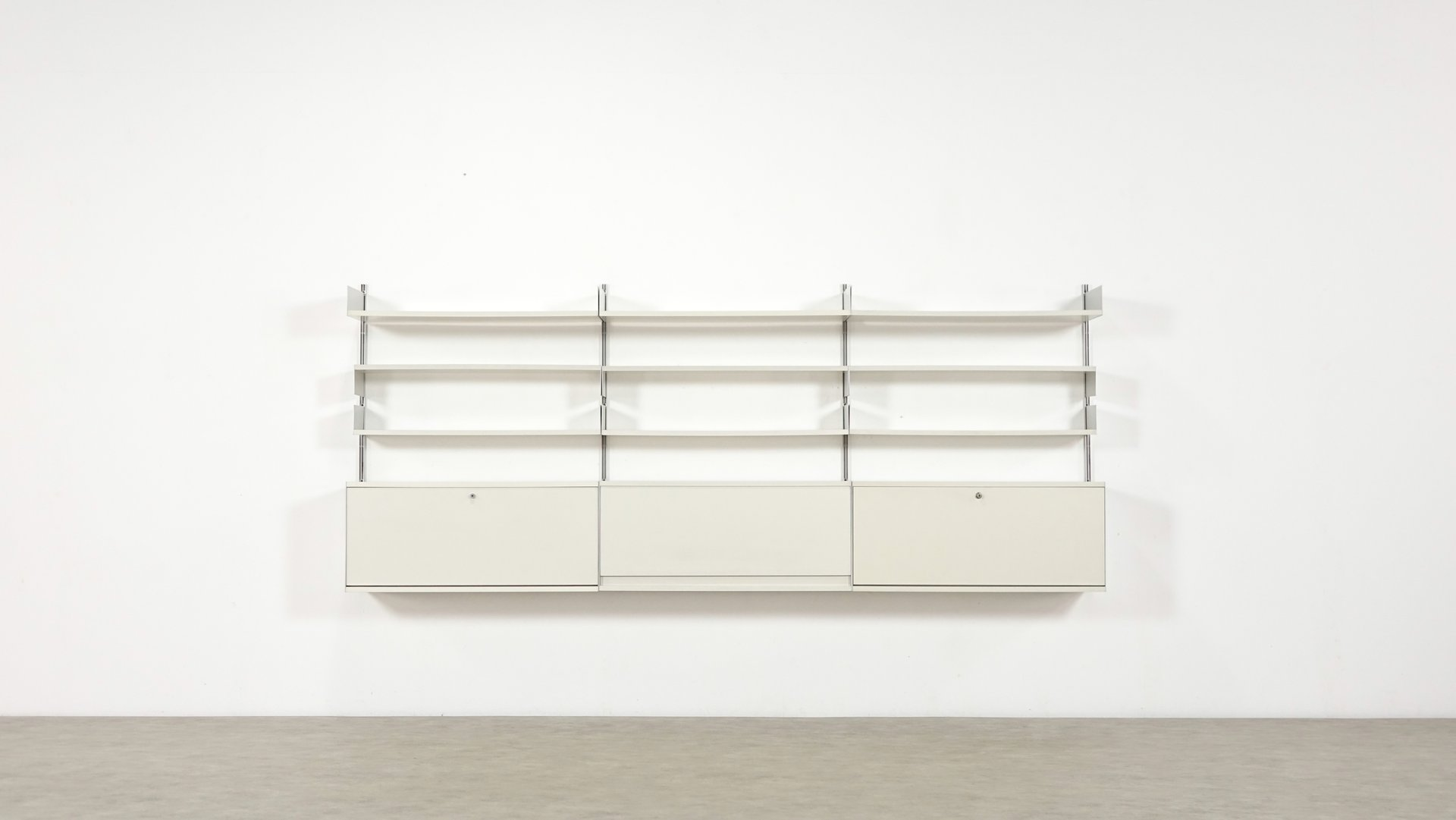 vintage 606 regal system von dieter rams f r vitsoe bei pamono kaufen. Black Bedroom Furniture Sets. Home Design Ideas
