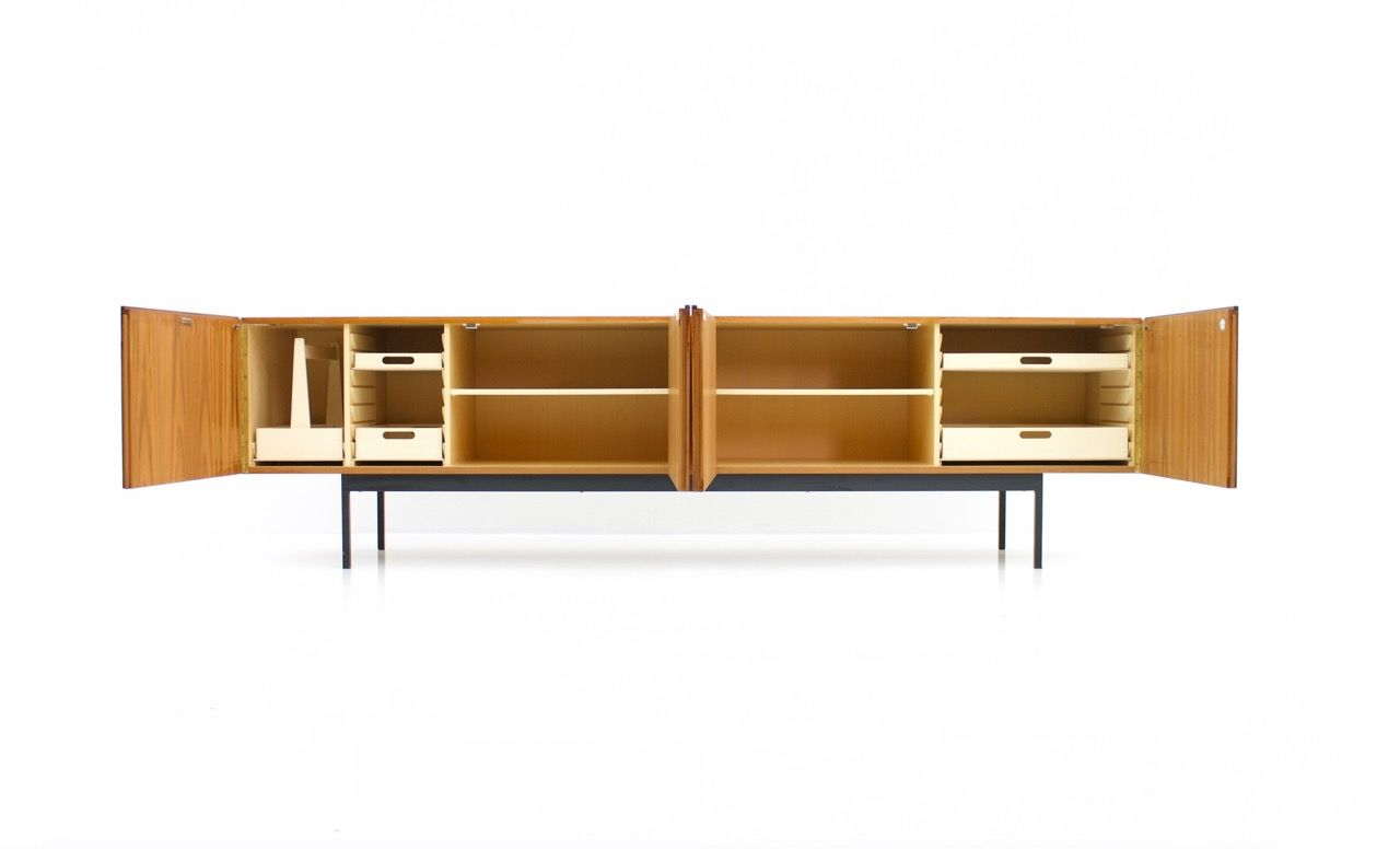 Teak b40 sideboard by dieter w ckerlin for behr 1960s for for Sideboard 70 cm