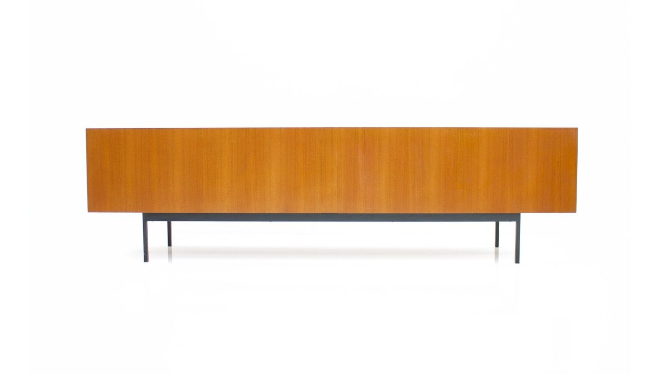 Teak b40 sideboard by dieter w ckerlin for behr 1960s for for Sideboard 2 m breit