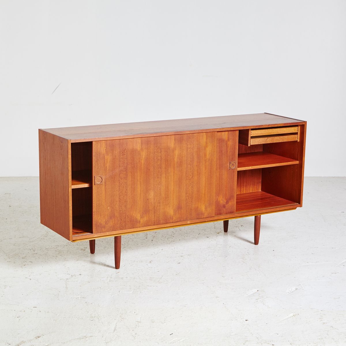 small mid century danish sideboard 1960s for sale at pamono. Black Bedroom Furniture Sets. Home Design Ideas
