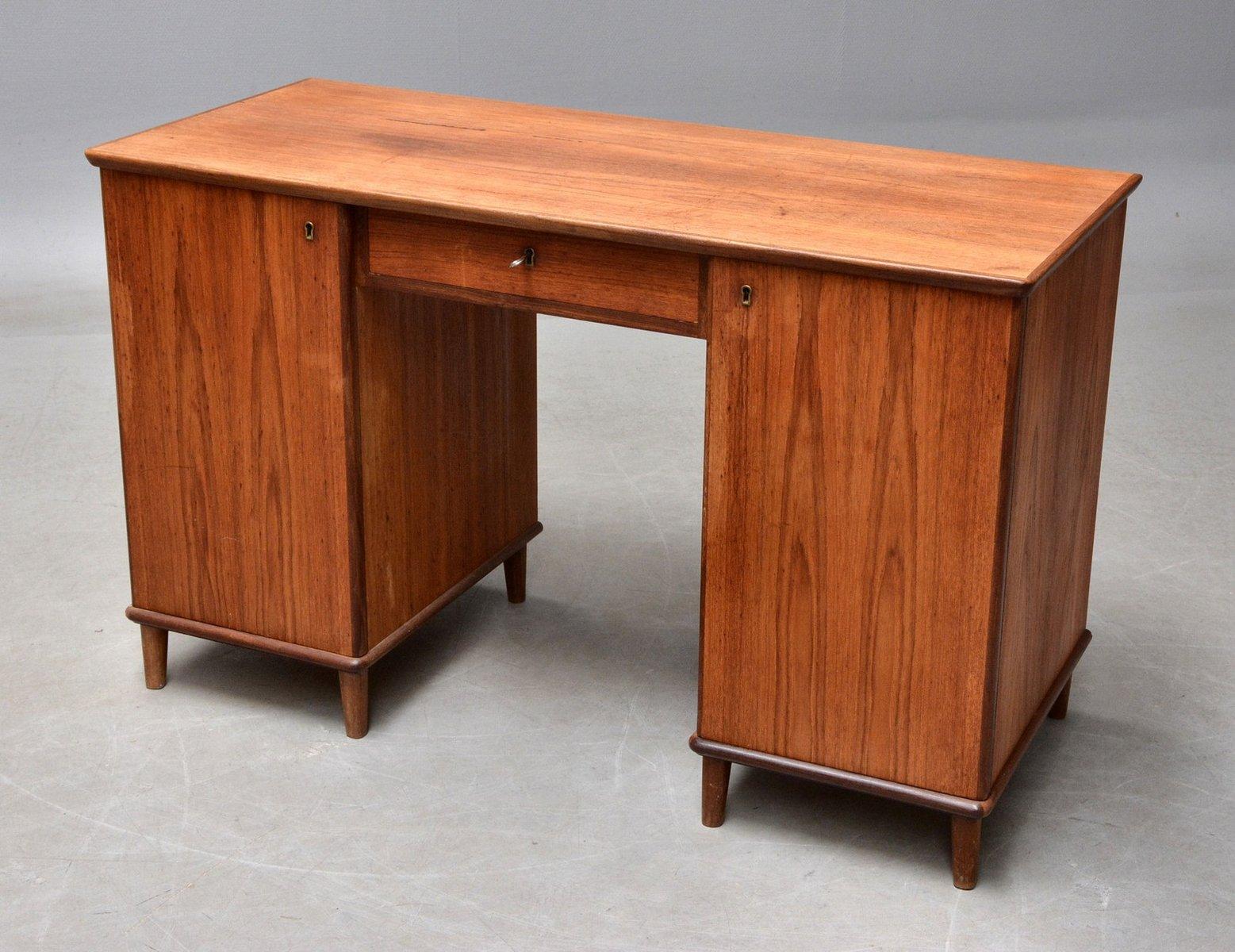 mid century d nische schreibtisch 1960er bei pamono kaufen. Black Bedroom Furniture Sets. Home Design Ideas