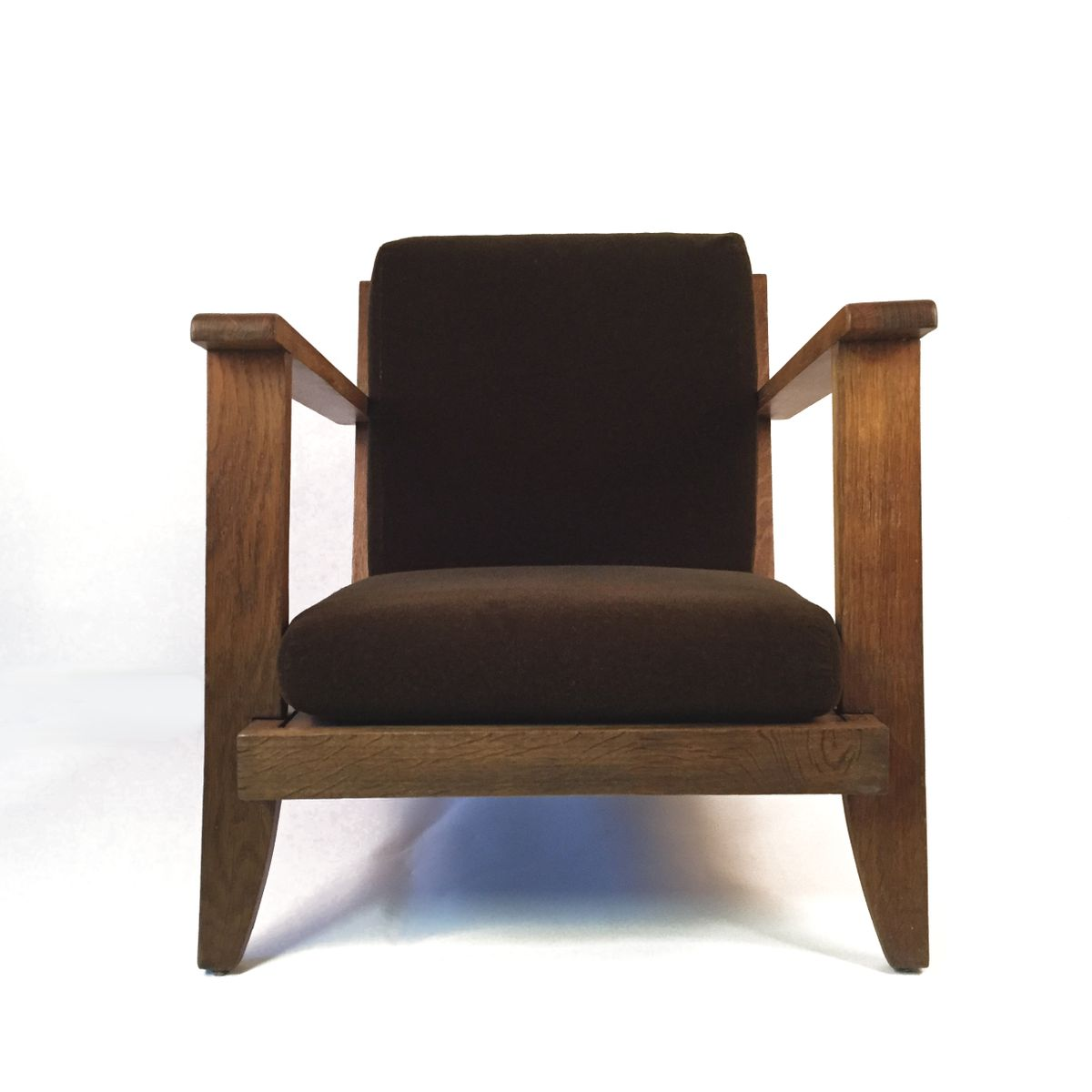 Reclining Armchair By René Gabriel For Lieuvin, 1950s