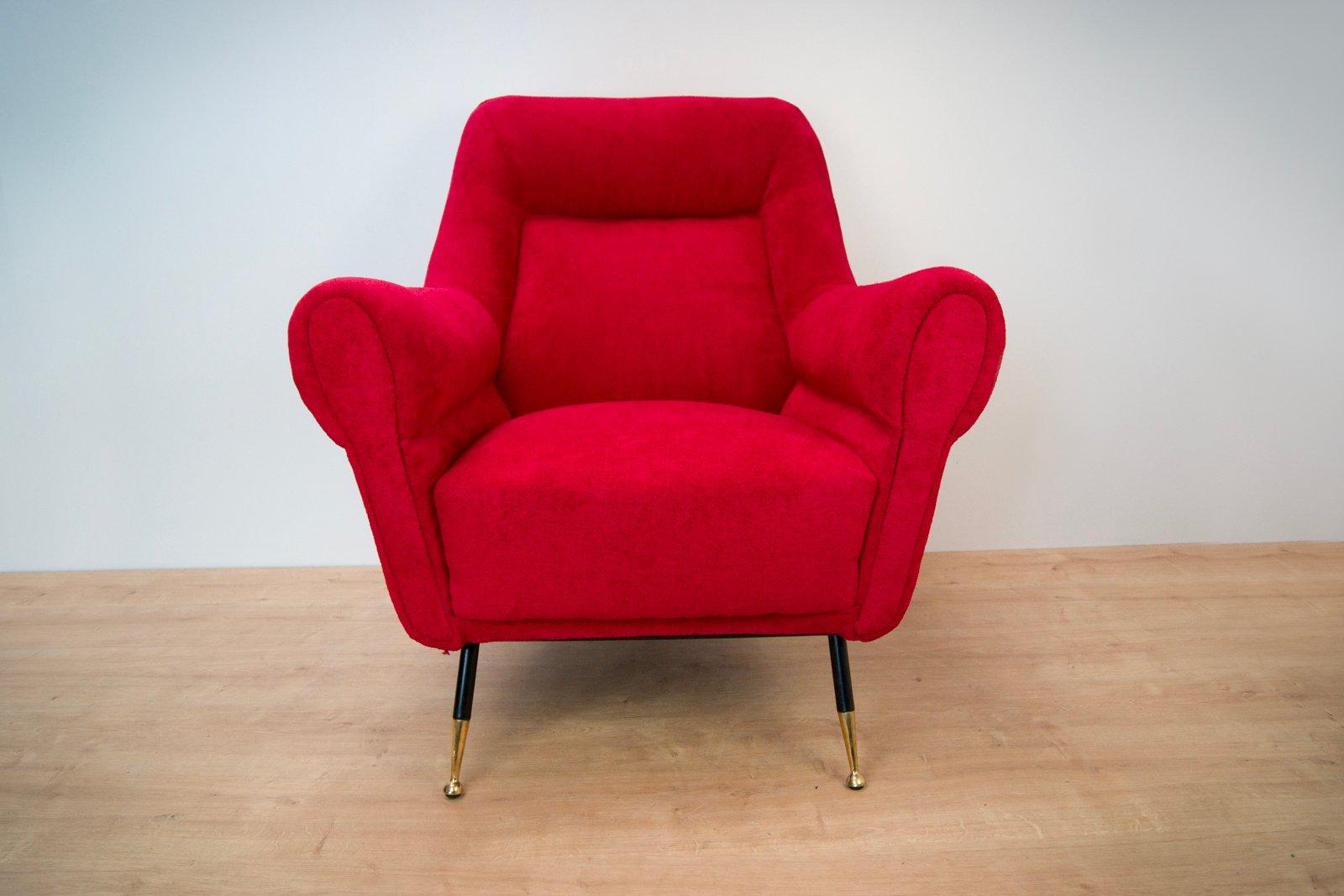 italienische mid century armlehnst hle von gigi radice f r minotti 1960er 2er set bei pamono. Black Bedroom Furniture Sets. Home Design Ideas