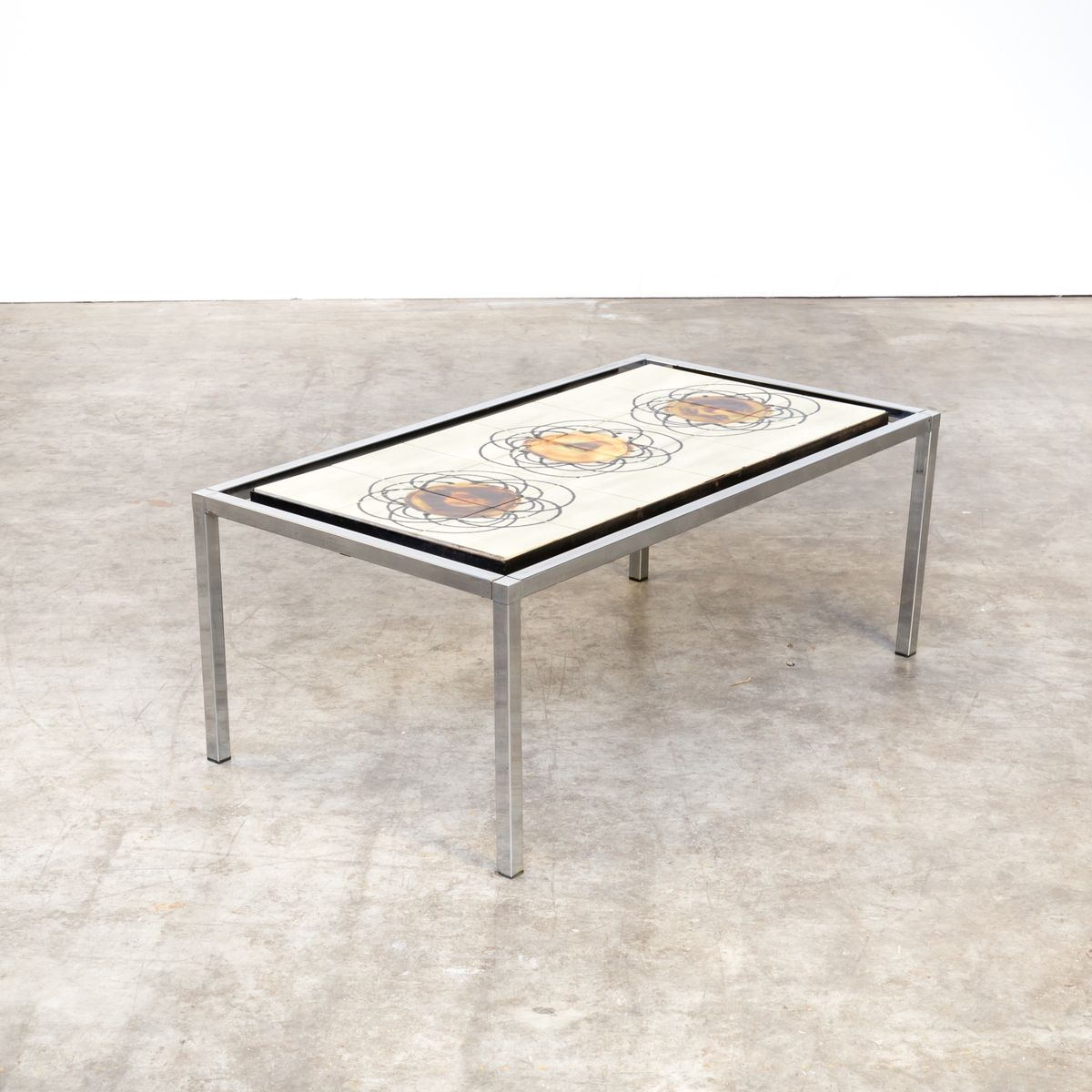 Hand Painted Coffee Table By Juliette Belarti, 1960s 10. $1,061.00. Price  Per Piece