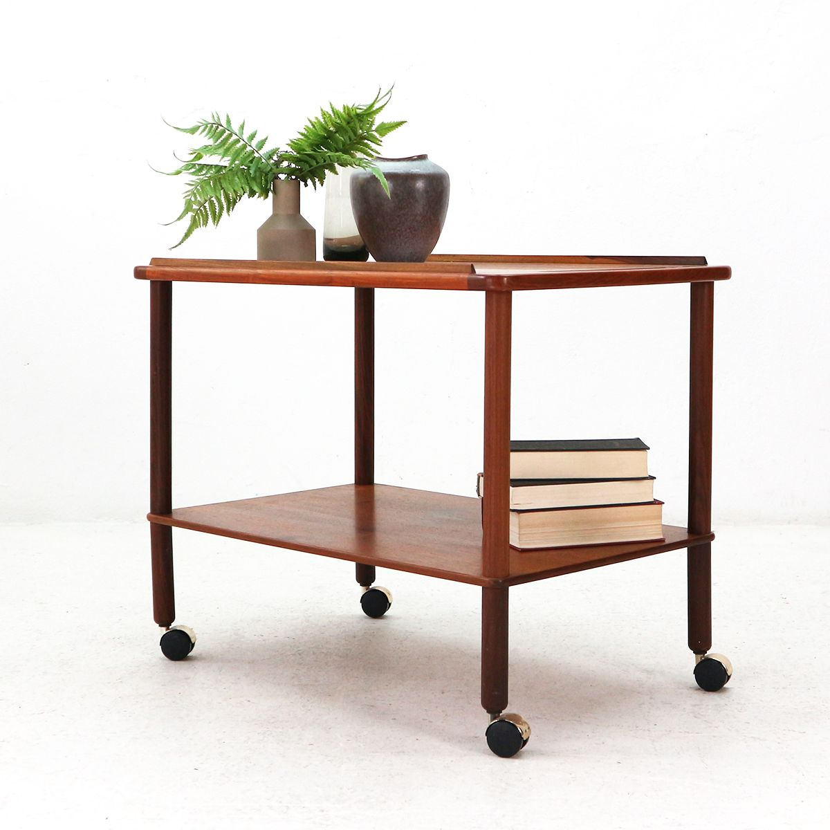 Teak serving trolley from foremost 1970s for sale at pamono for Foremost homes price list