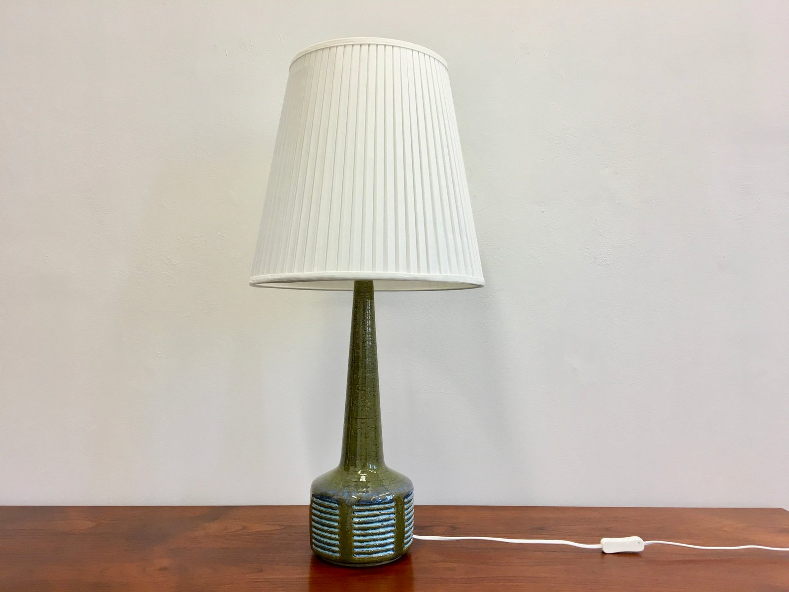 Mid century danish green ceramic table lamp by per linnemann schmidt mid century danish green ceramic table lamp by per linnemann schmidt for palshus mozeypictures Choice Image