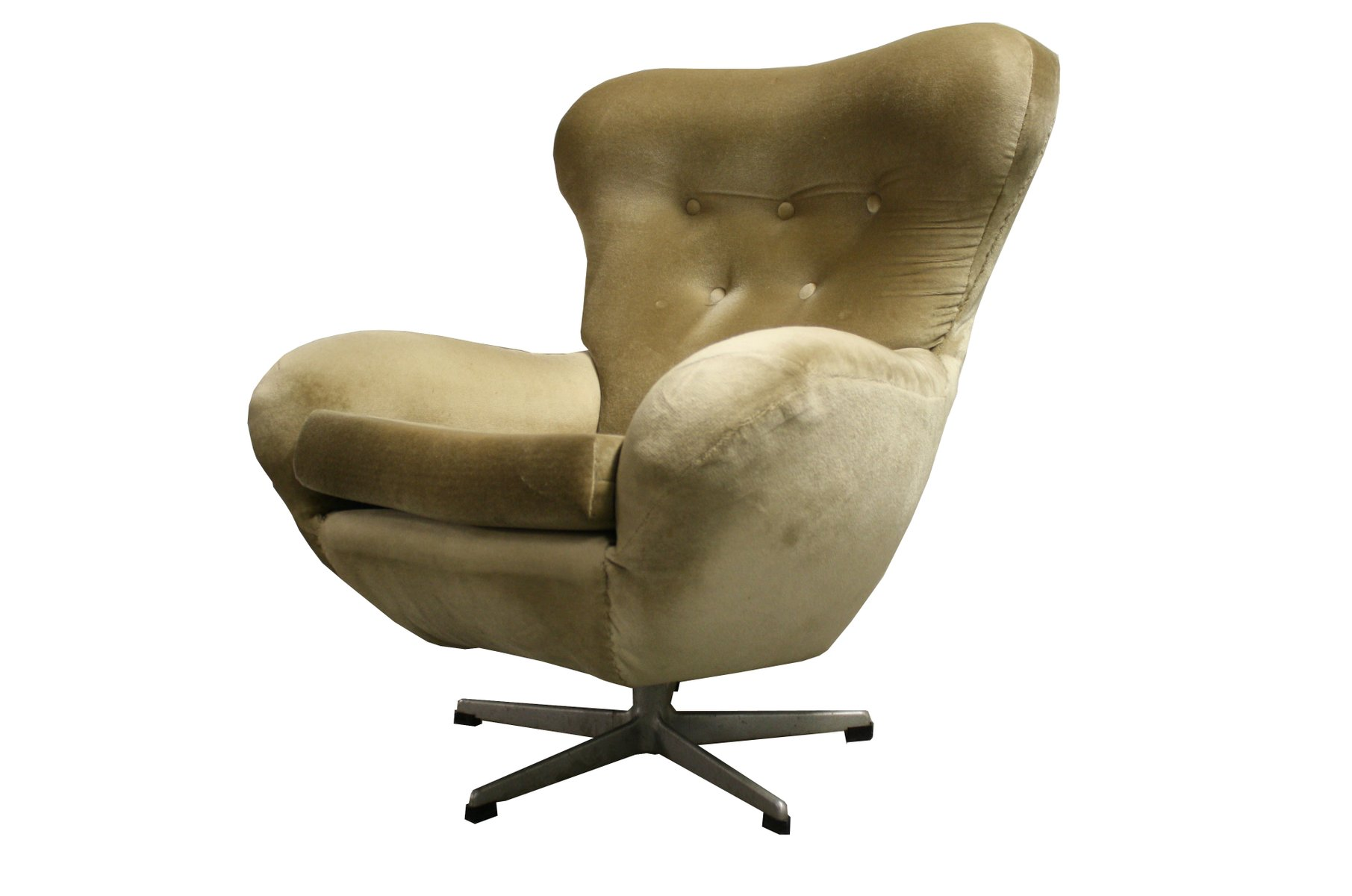Mid Century Modern Swivel Chair 1960s For Sale At Pamono