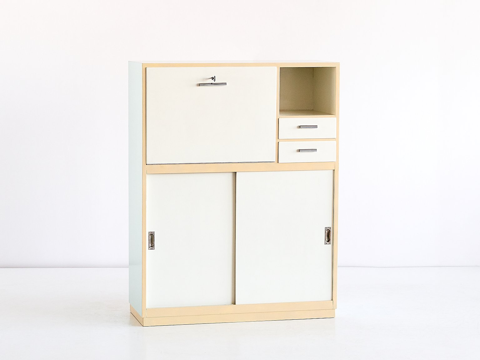 moderner sekret r schrank von willem penaat f r metz co. Black Bedroom Furniture Sets. Home Design Ideas