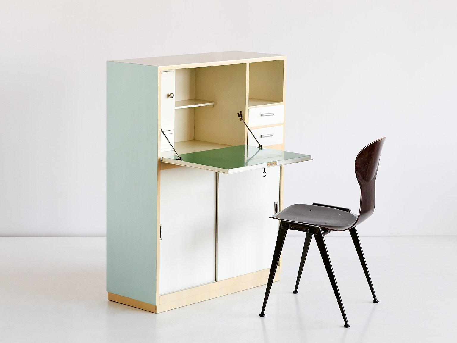 moderner sekret r schrank von willem penaat f r metz co 1930 bei pamono kaufen. Black Bedroom Furniture Sets. Home Design Ideas