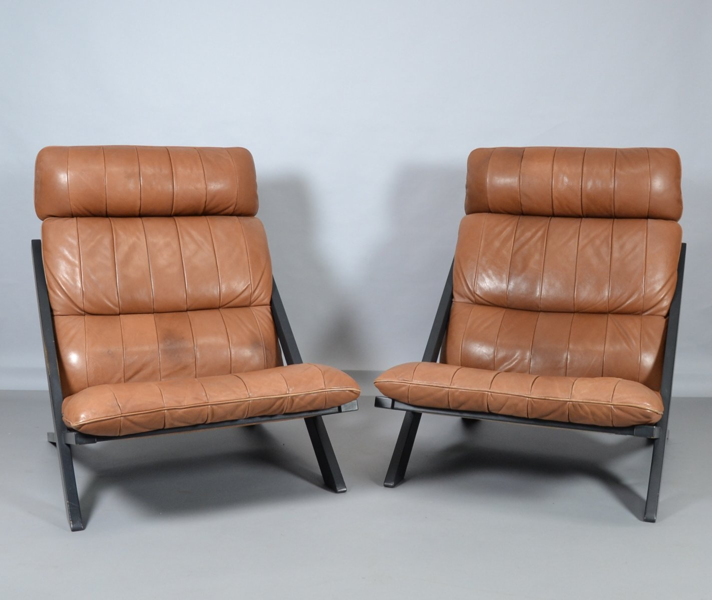 sessel von ueli berger f r de sede 1973 2er set bei pamono kaufen. Black Bedroom Furniture Sets. Home Design Ideas
