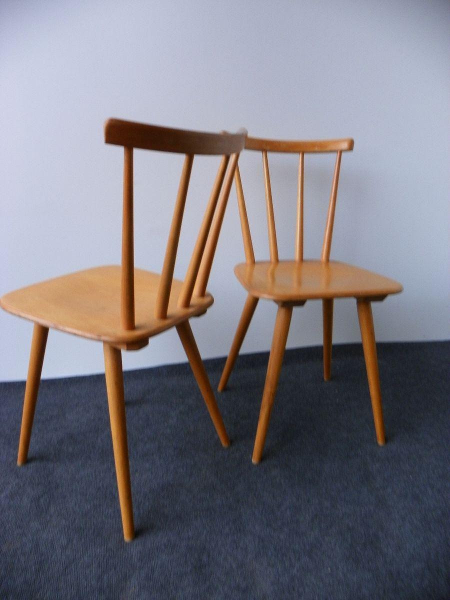 d nische vintage st hle 2er set bei pamono kaufen. Black Bedroom Furniture Sets. Home Design Ideas