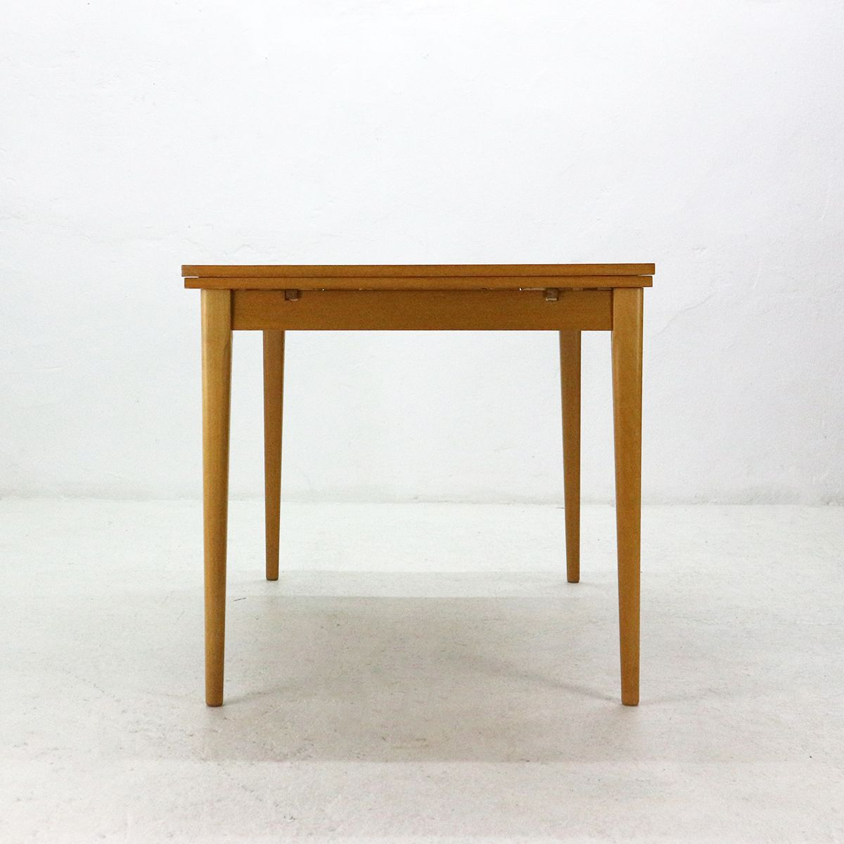 beech wood dining table ash amp beechwood dining table 1960s for at pamono 4404