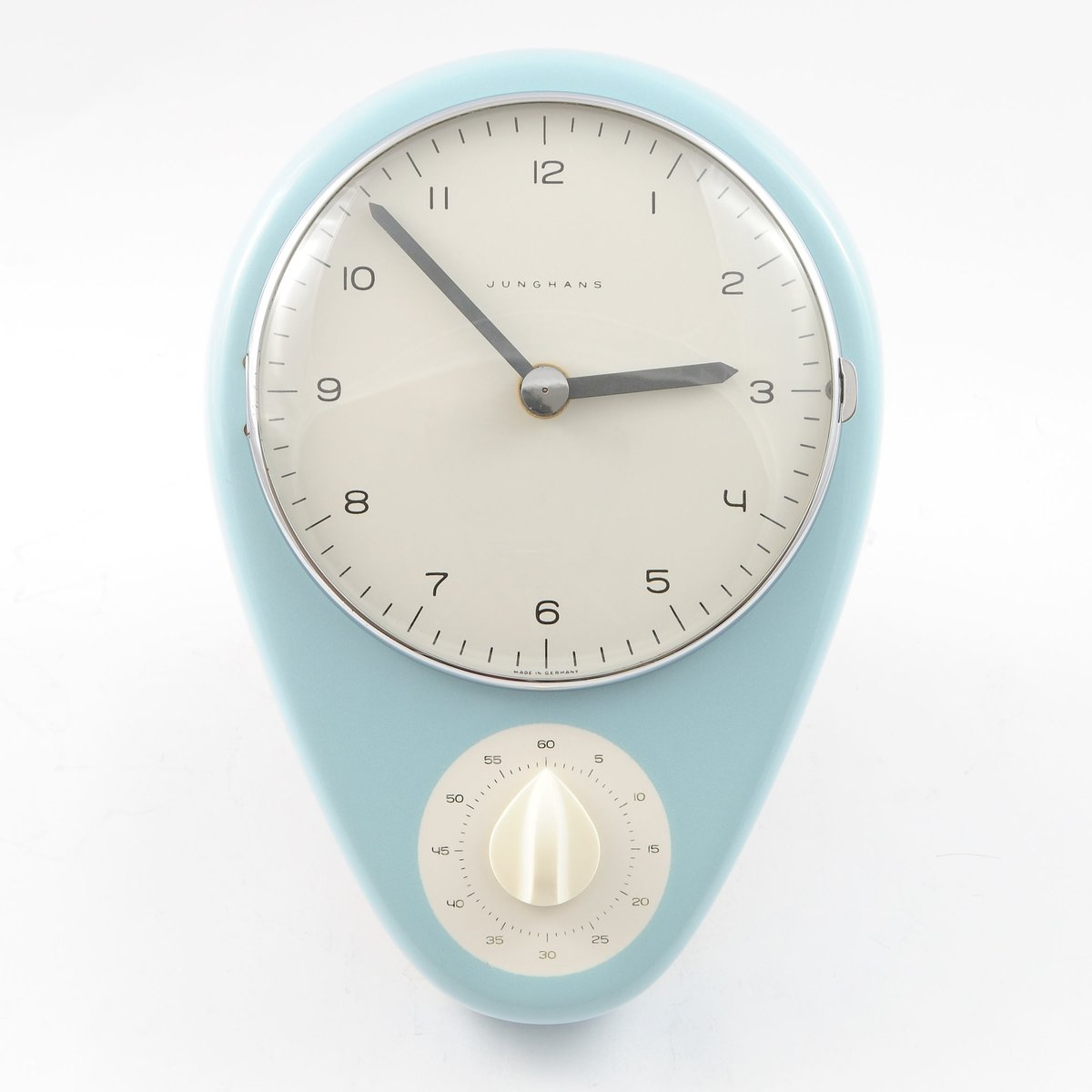 Mid-Century Kitchen Clock by Max Bill for Junghans, 1950s for sale ...