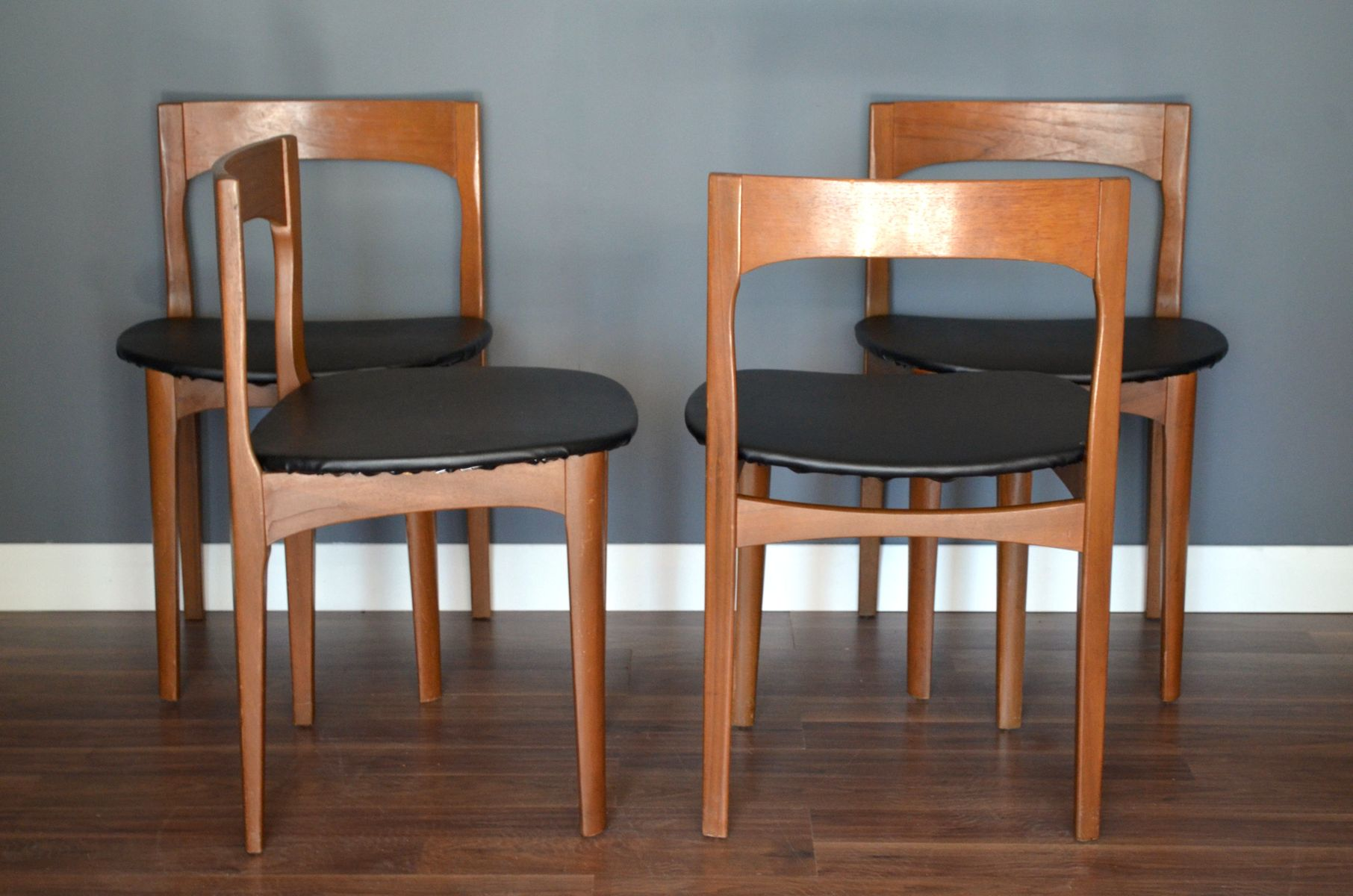 Mid Century Teak Dining Room Set From Nathan