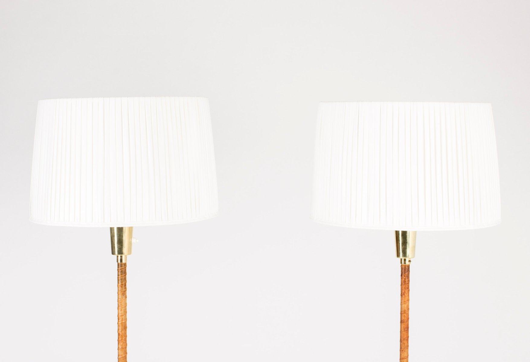Leather floor lamp image collections home furniture designs pictures brass leather floor lamps by lisa johansson pape for orno 1950s aloadofball Image collections