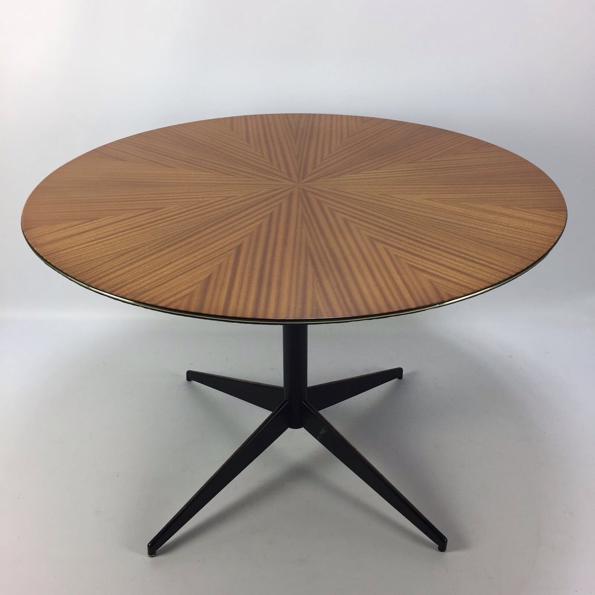 Circular Dining Table By Vittorio Nobili For Fratelli Tagliabue, 1950s