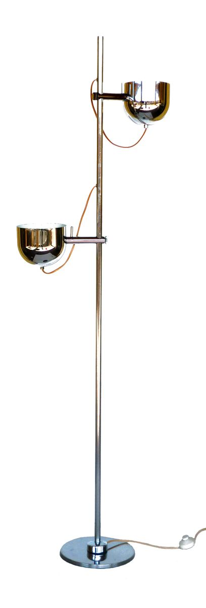 Mid Century Floor Lamp By Tito Agnoli For Reggiani