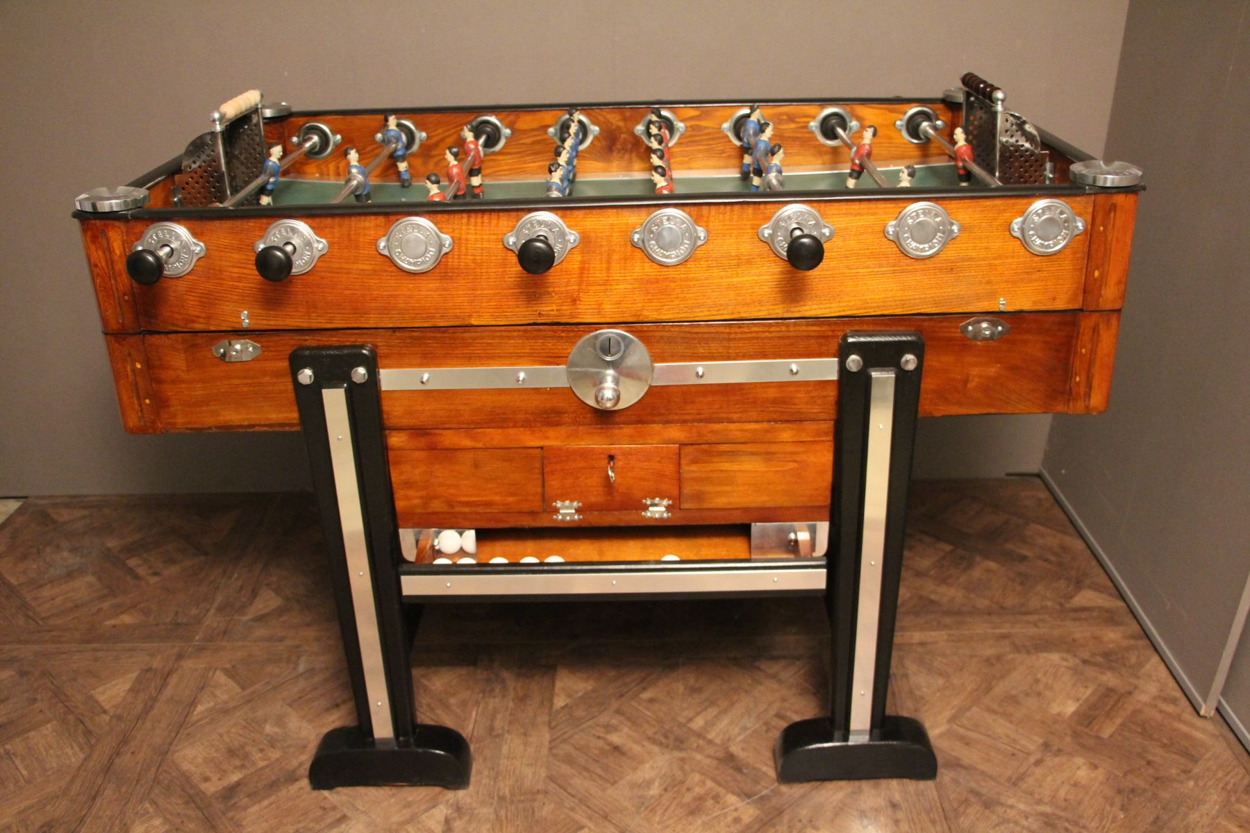Mid Century French Foosball Table From Stella 1950s For