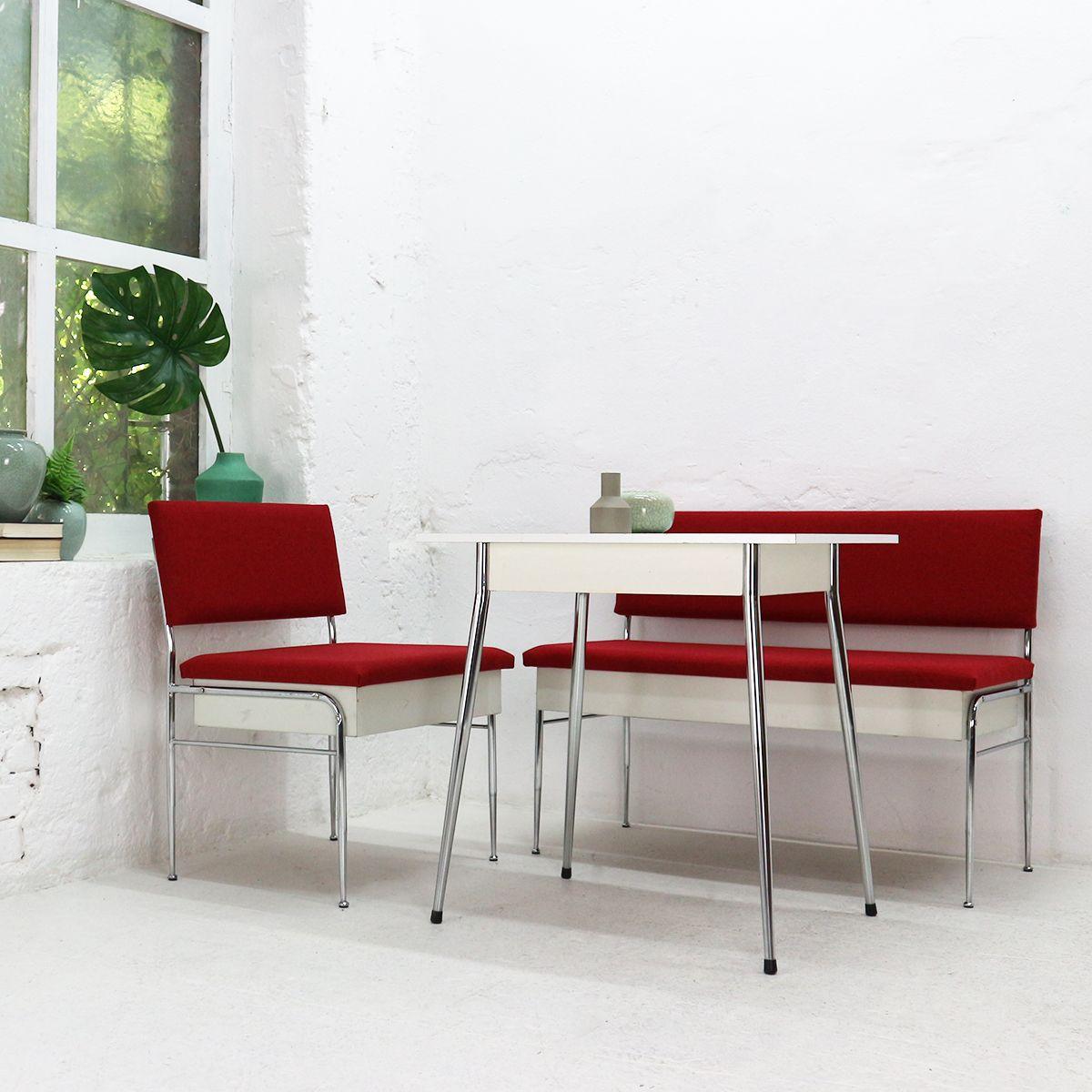 sitzbank mit aufbewahrung 1950er bei pamono kaufen. Black Bedroom Furniture Sets. Home Design Ideas
