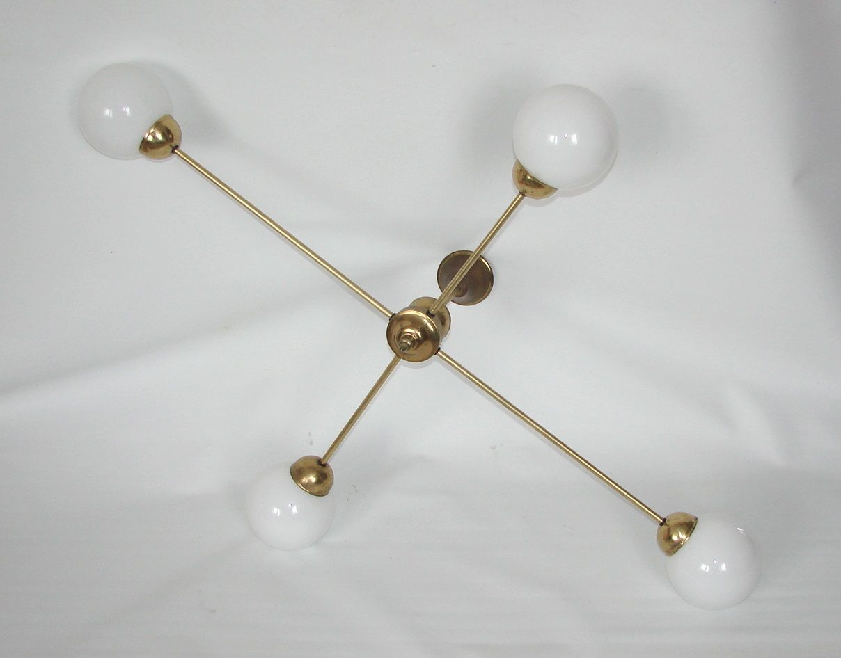 Large minimalist chandelier 1960s for sale at pamono large minimalist chandelier 1960s aloadofball