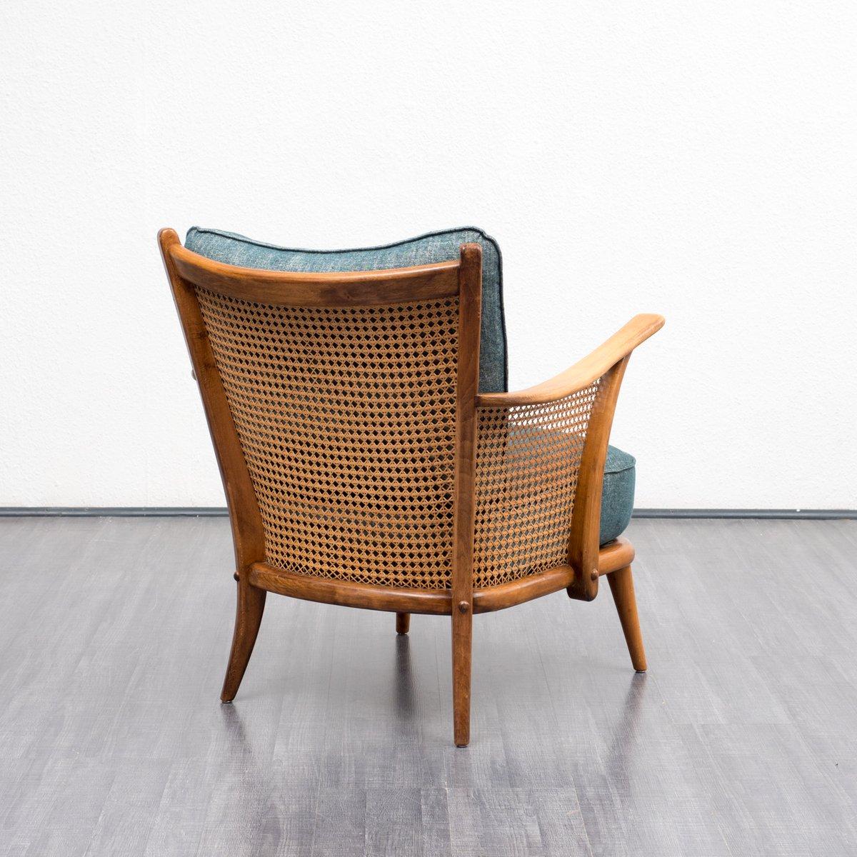 sessel mit wiener geflecht 1950er bei pamono kaufen. Black Bedroom Furniture Sets. Home Design Ideas