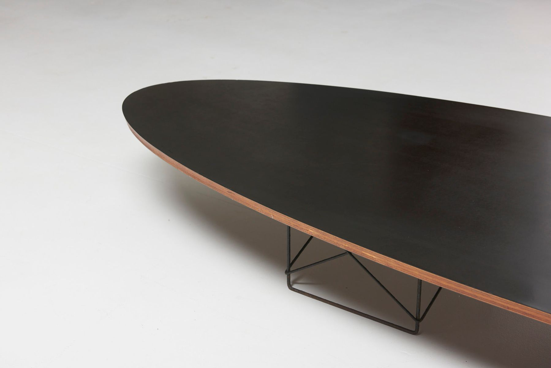 Mid Century Etr Or Surfboard Coffee Table By Charles Ray Eames For