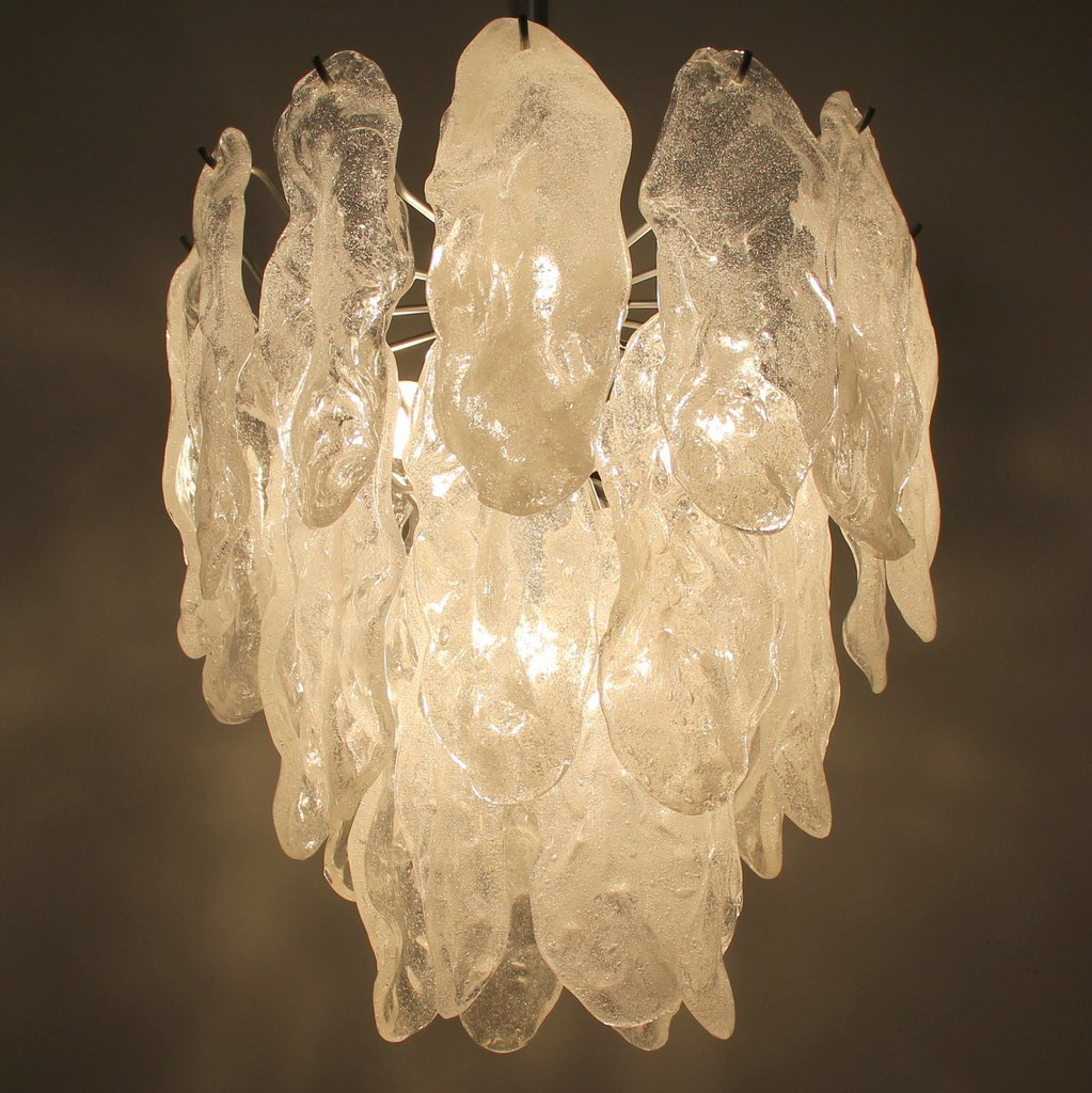 Large Murano Glass Chandelier, 1960s for sale at Pamono