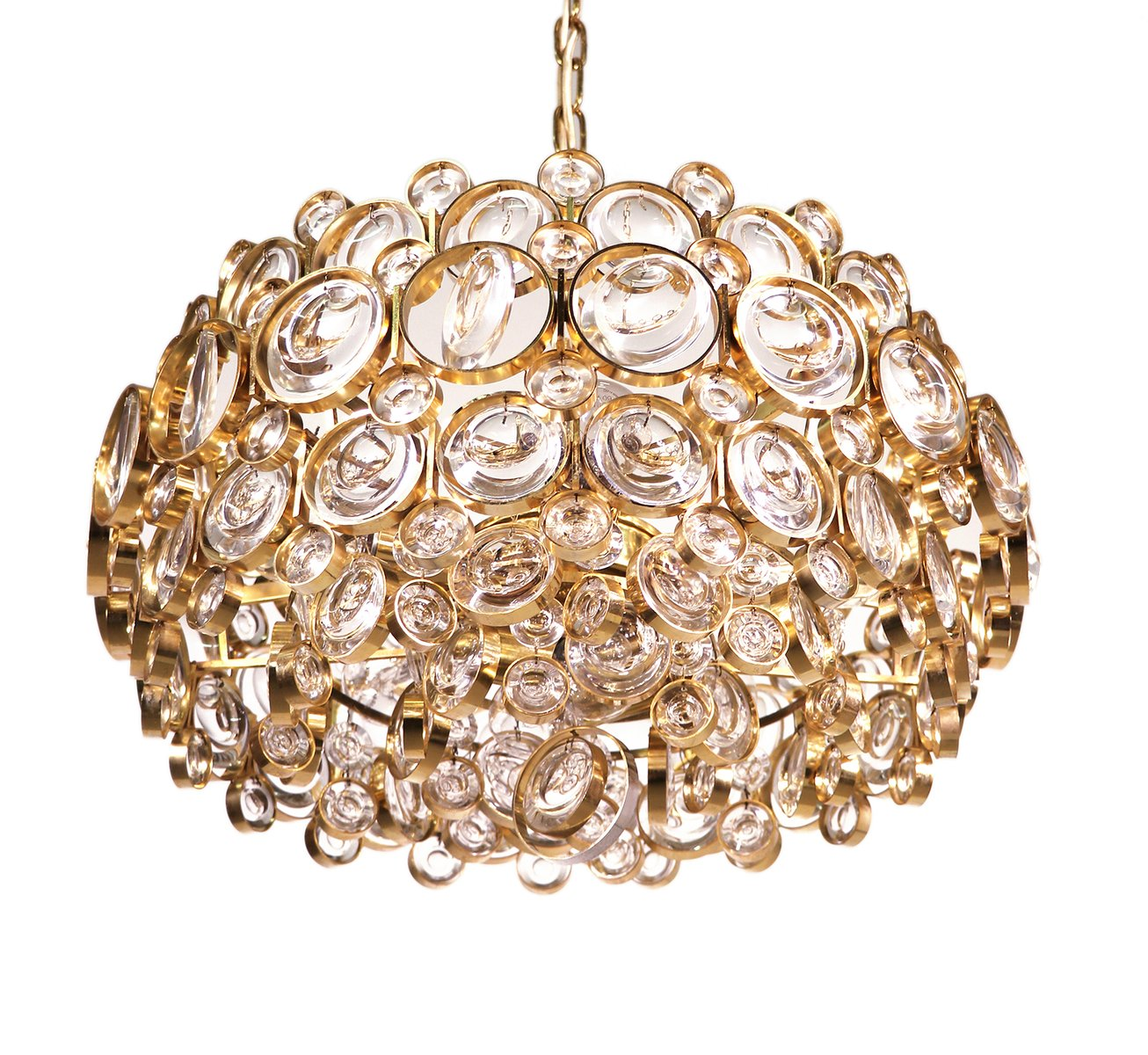 Gold plated crystal chandelier by gaetano sciolari for palwa 1960s gold plated crystal chandelier by gaetano sciolari for palwa 1960s mozeypictures Gallery