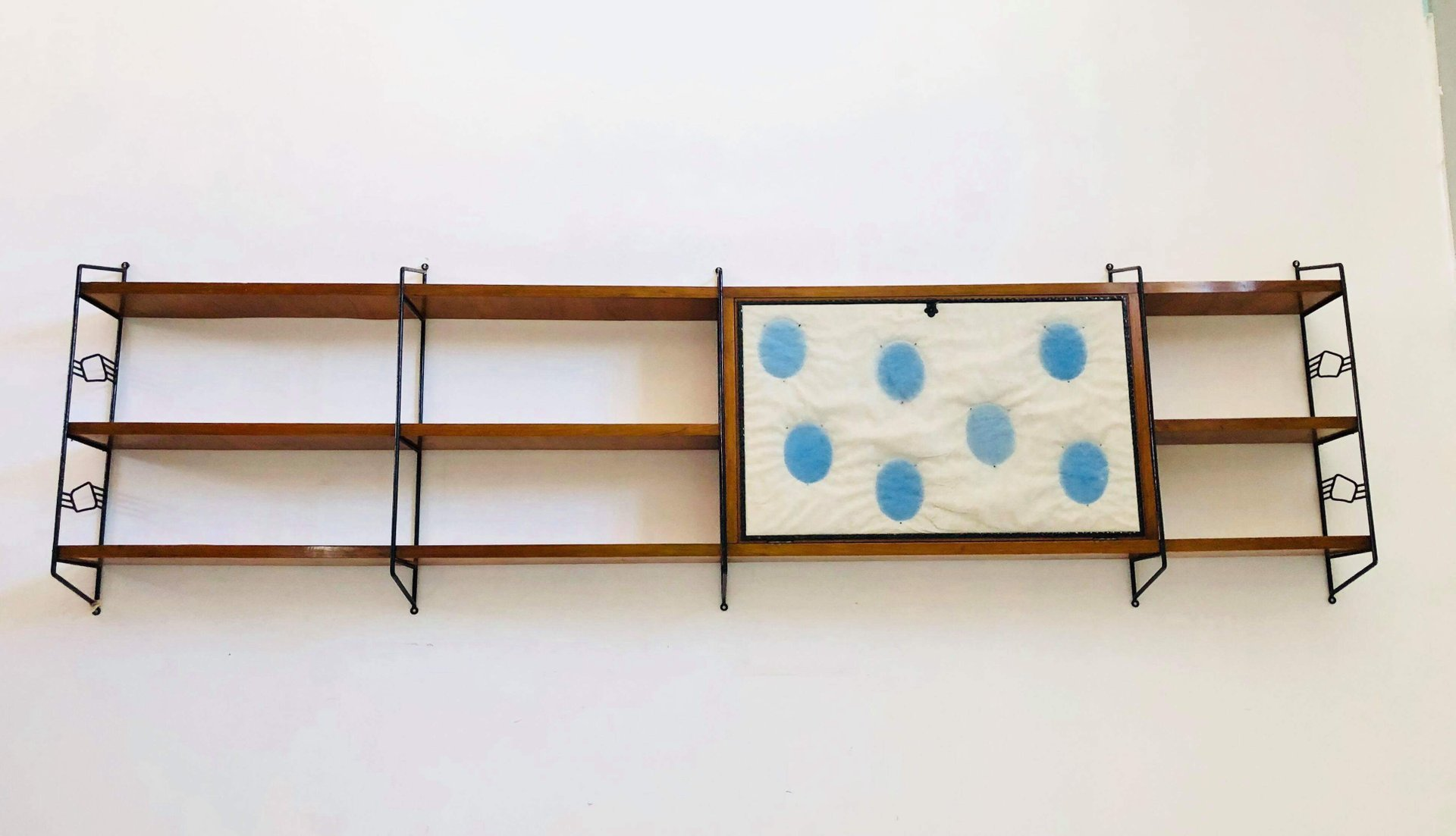 Italian Mid Century Wall Unit 1950s for sale at Pamono