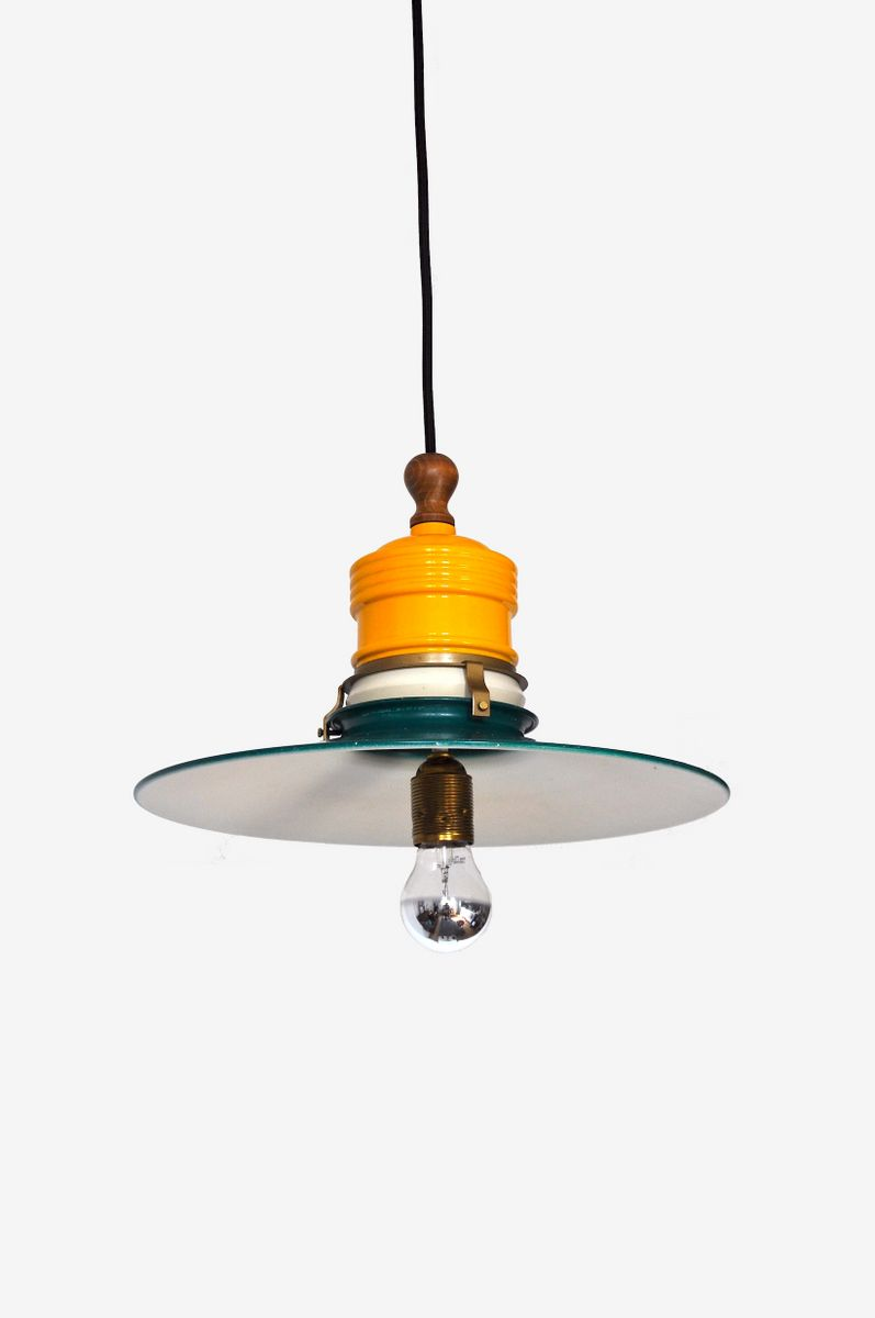 mid century danish industrial pendant lamp for sale at pamono. Black Bedroom Furniture Sets. Home Design Ideas