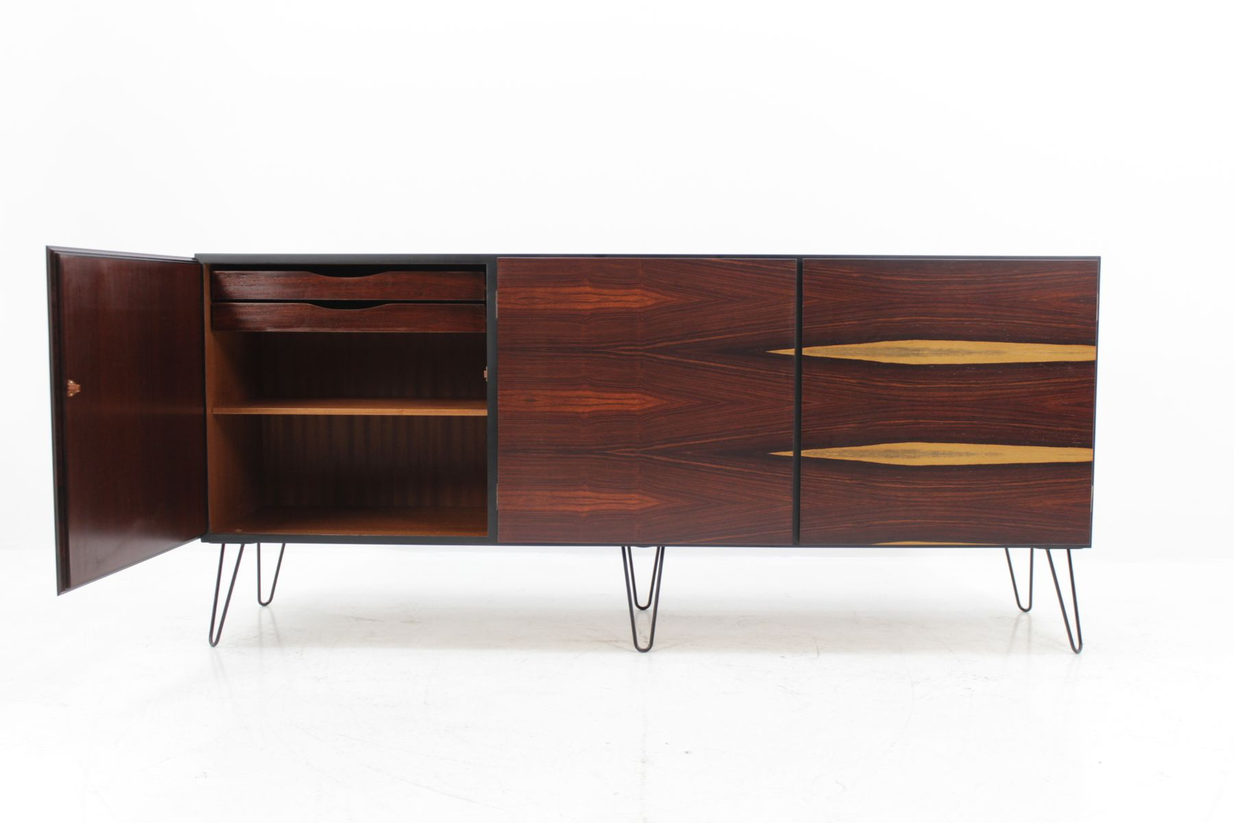 Upcycled Palisander Cocobolo Sideboard From Omann Jun 1960s