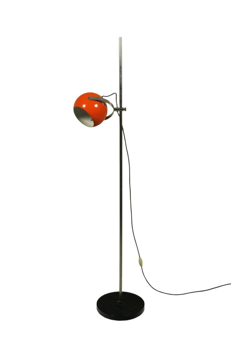 Orange floor lamp 1960s for sale at pamono orange floor lamp 1960s aloadofball Images