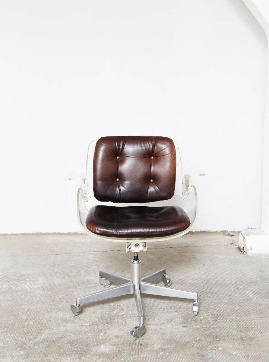 vintage office chair. vintage d49 office chair by hans könecke for tecta