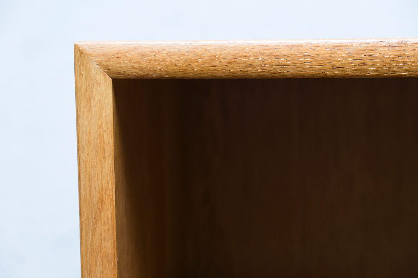 mid century german oak shelves from wk m bel 1960s for sale at pamono. Black Bedroom Furniture Sets. Home Design Ideas