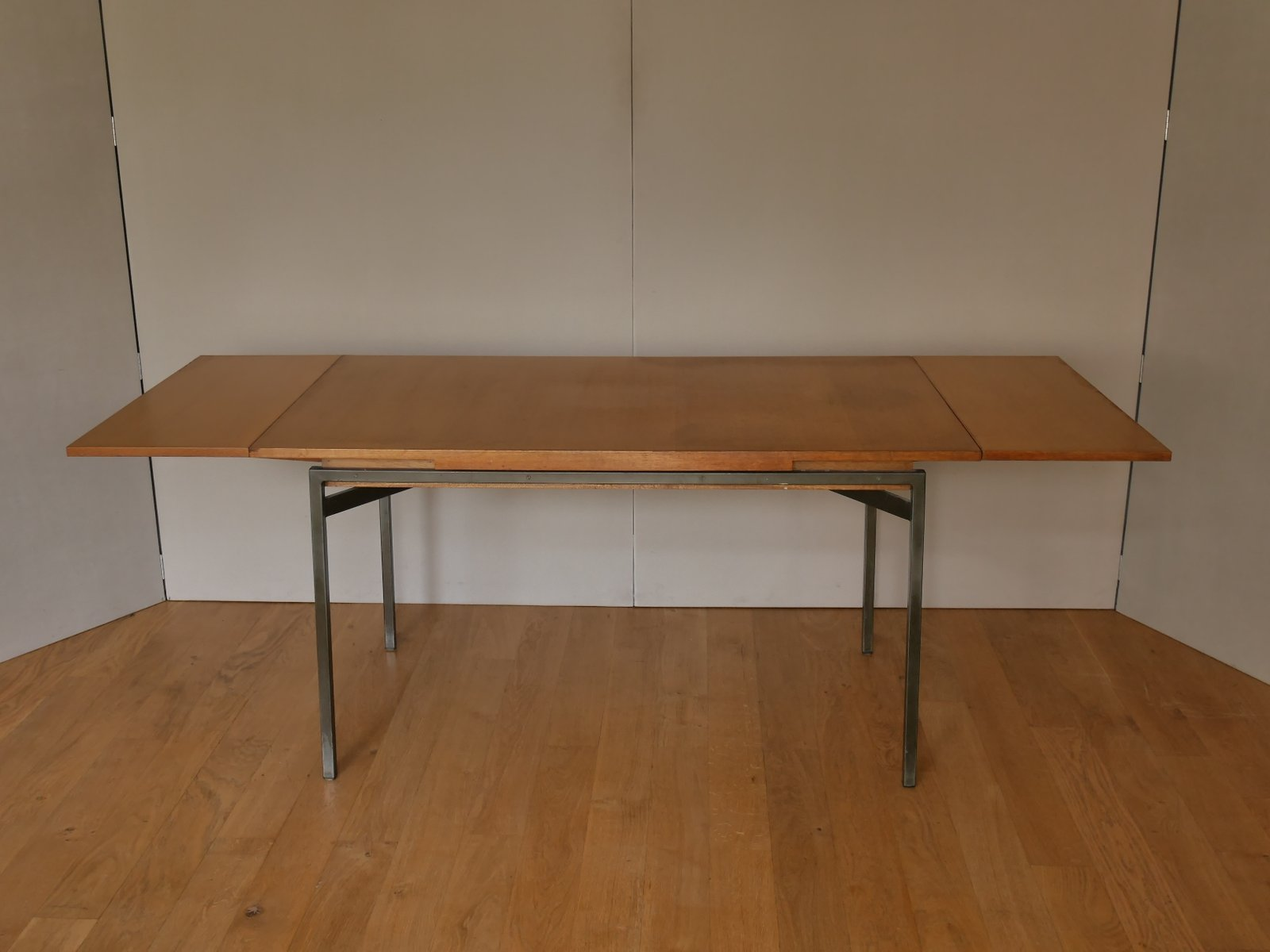 Extendable Dining Table By Bernard Marange For Meubles Polyvalents, 1950S