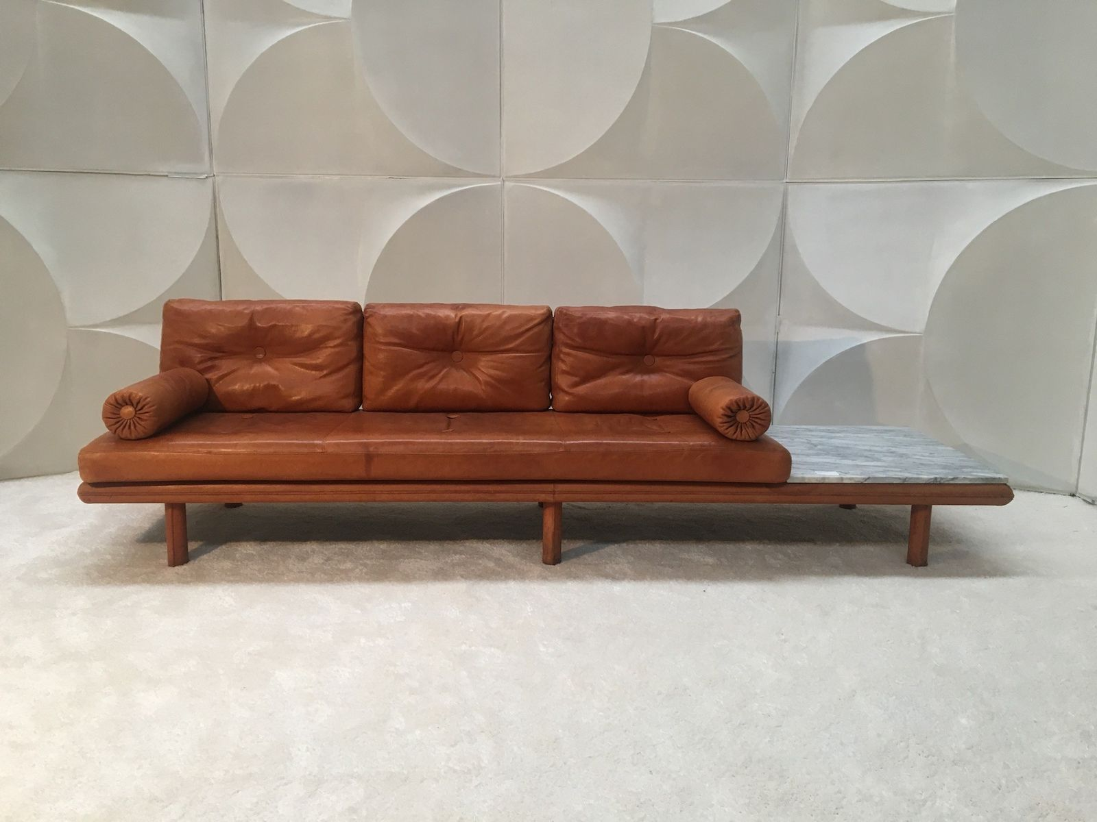Leather Sofa By Franz K Ttgen Sofa For Kill International,