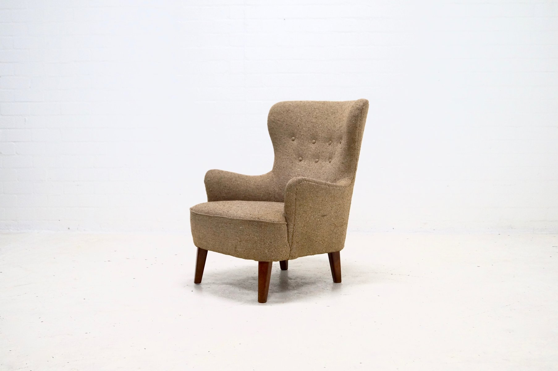 Mid Century Armchair By Theo Ruth For Artifort, 1950S
