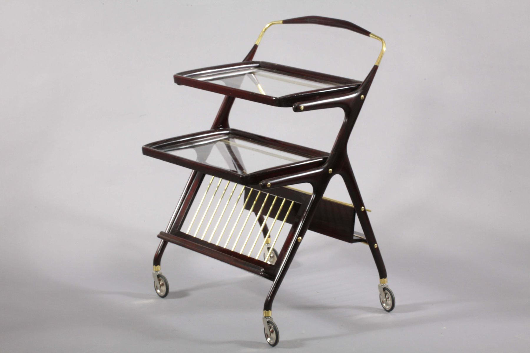 Mid Century Italian Bar Cart, 1950S