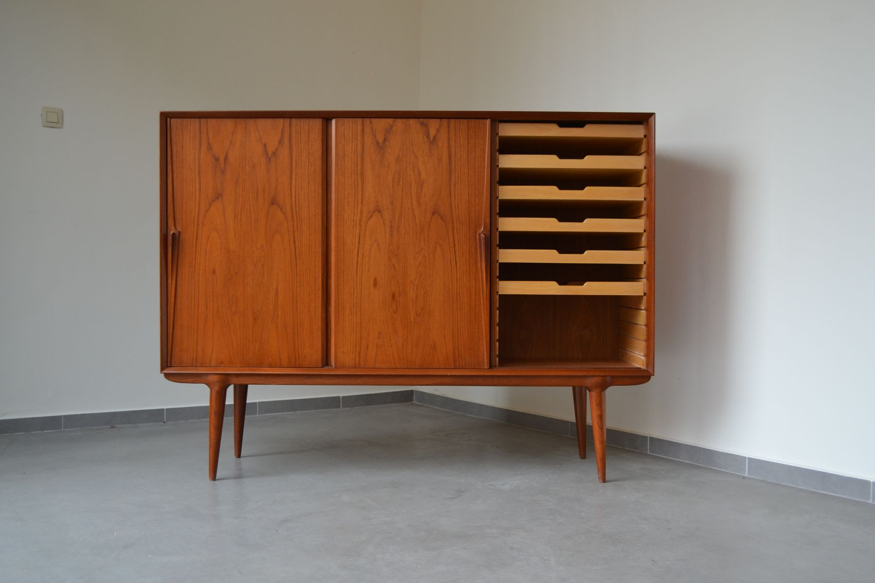 Model 15 Highboard From Omann Jun, 1960S