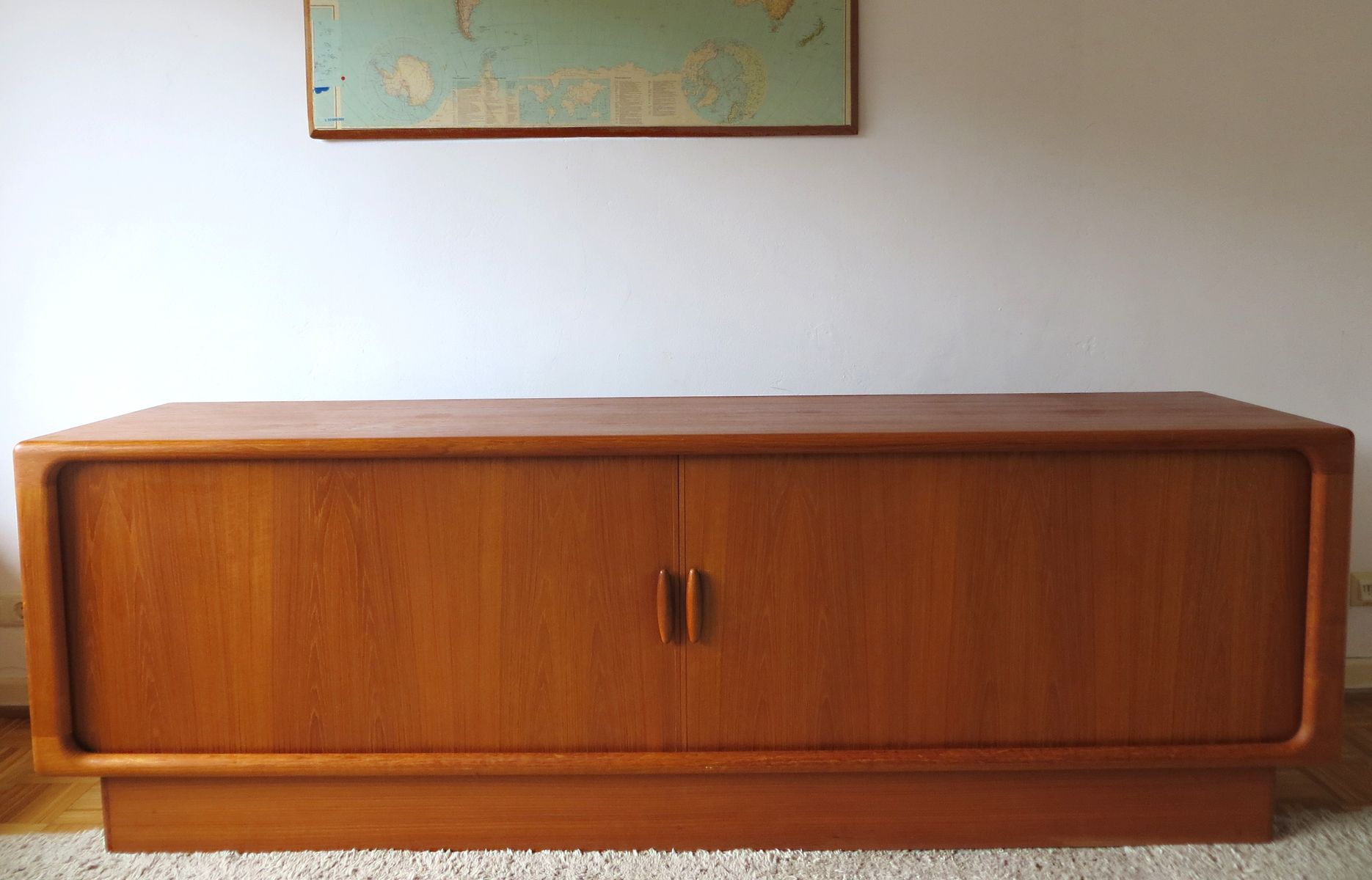 Danish Solid Teak Sideboard From Dyrlund, 1960S