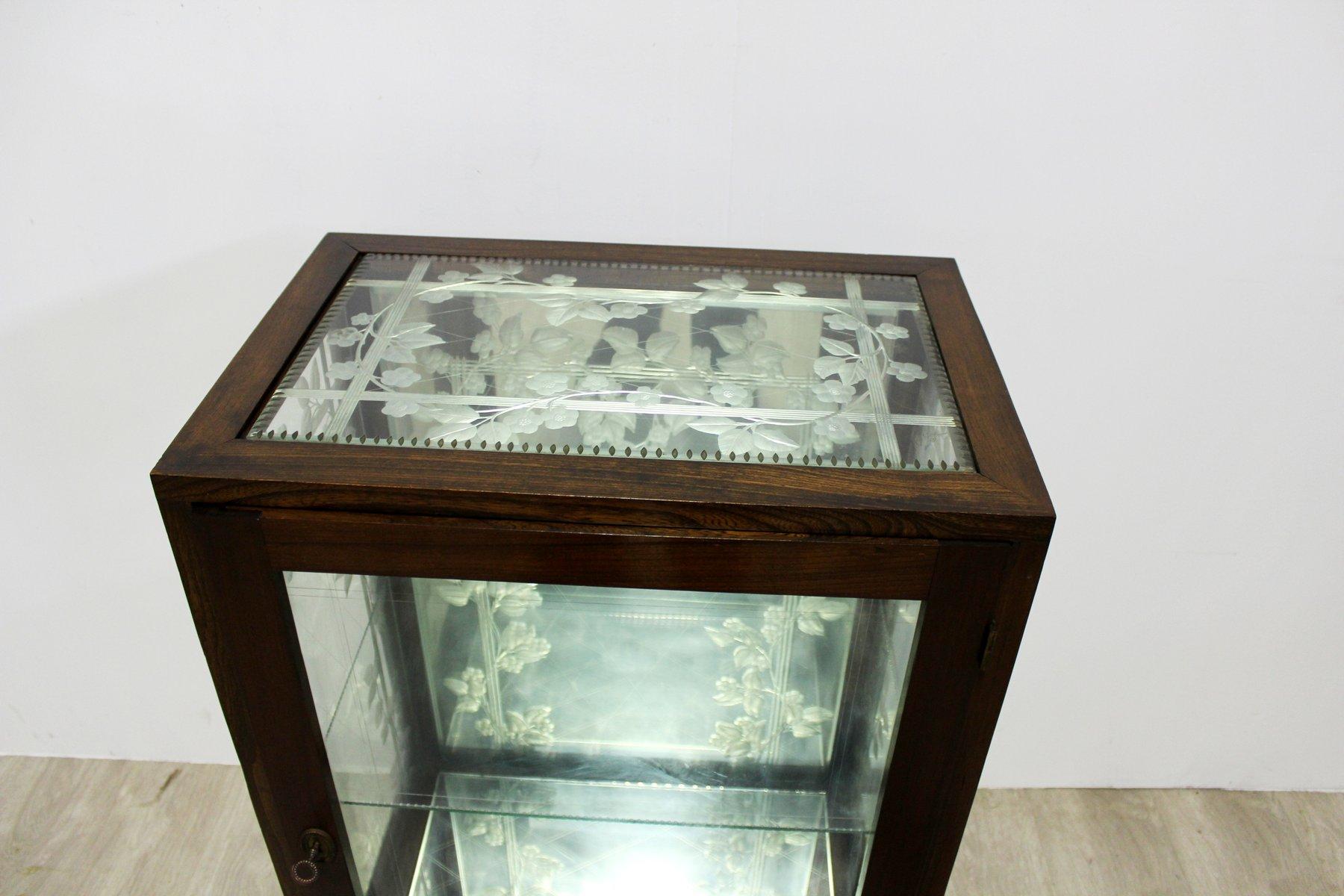 Art Nouveau Display Cabinet By Villepange