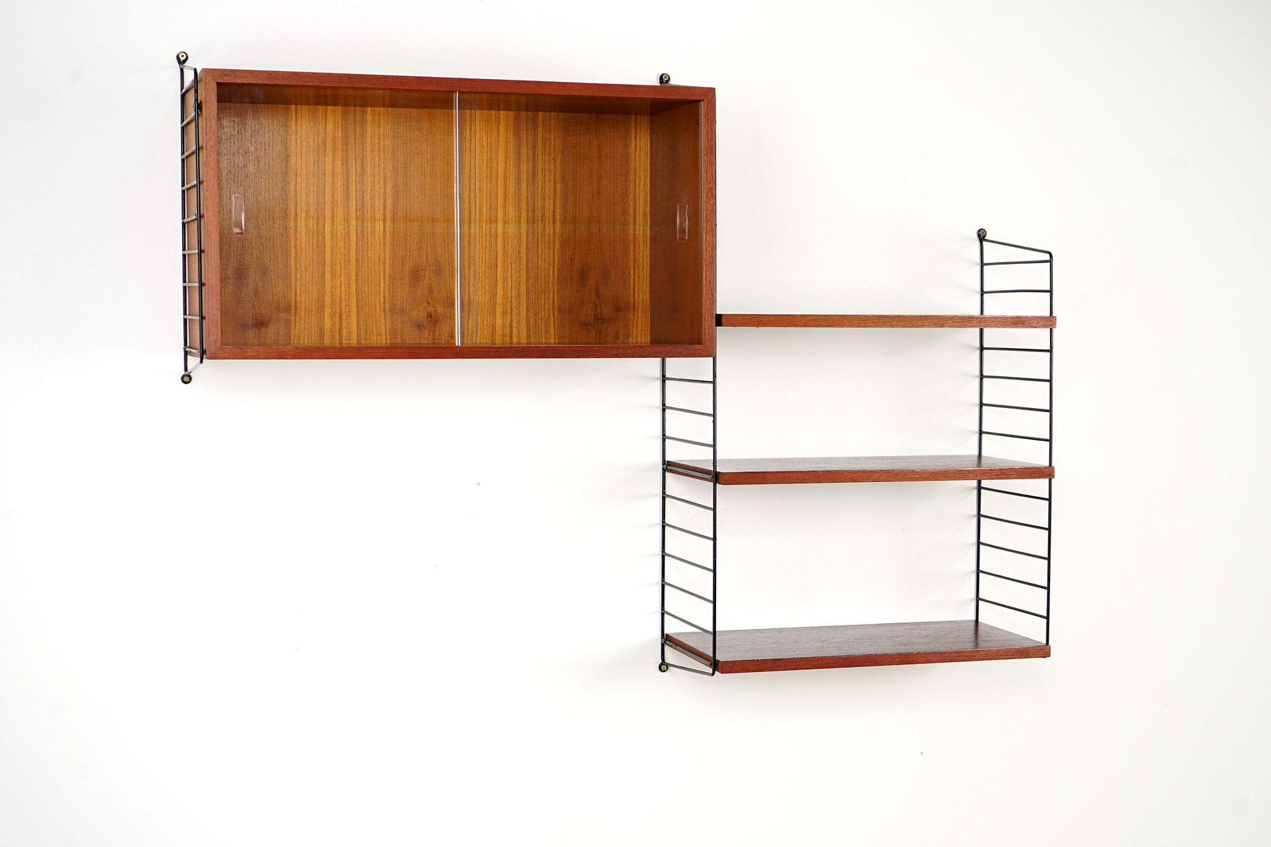 Shelving System By Kajsa & Nisse Strinning For String, 1950S