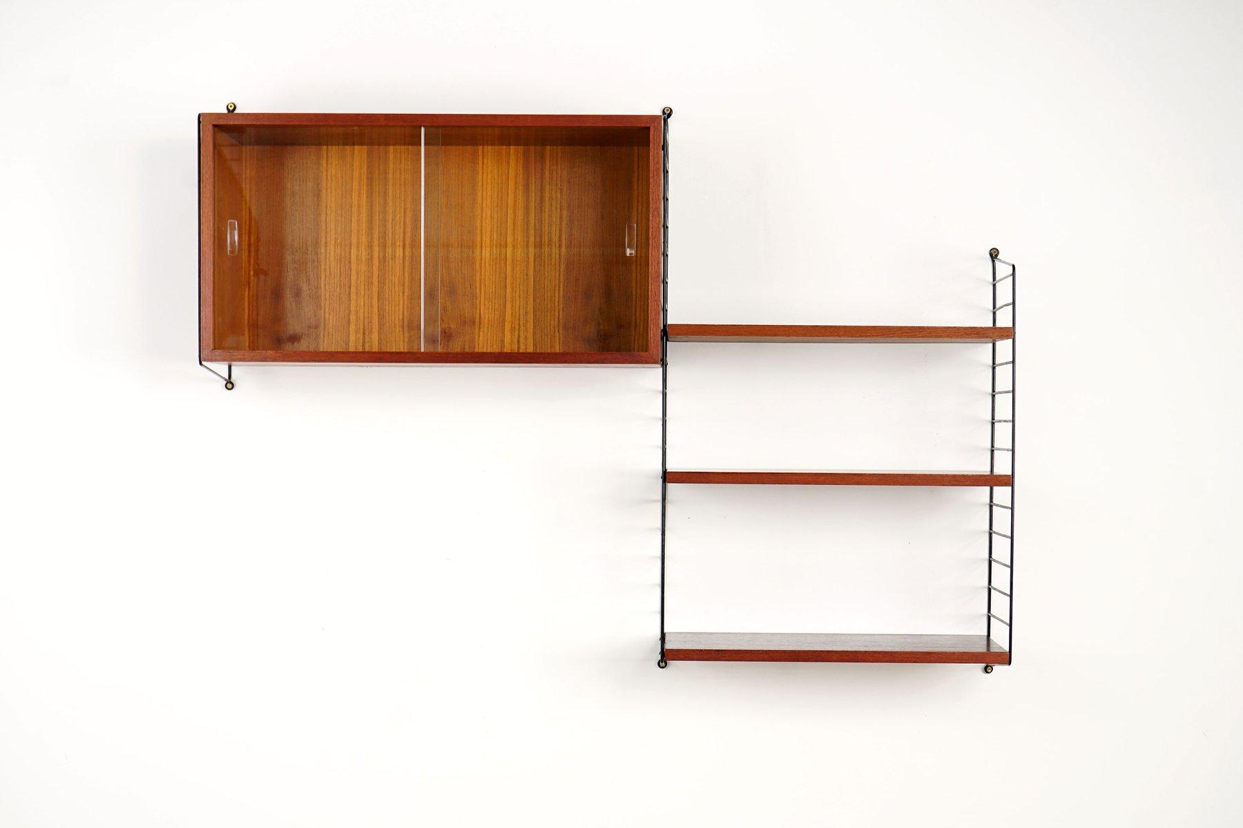 Shelving System By Kajsa & Nisse Strinning For String, 1950S