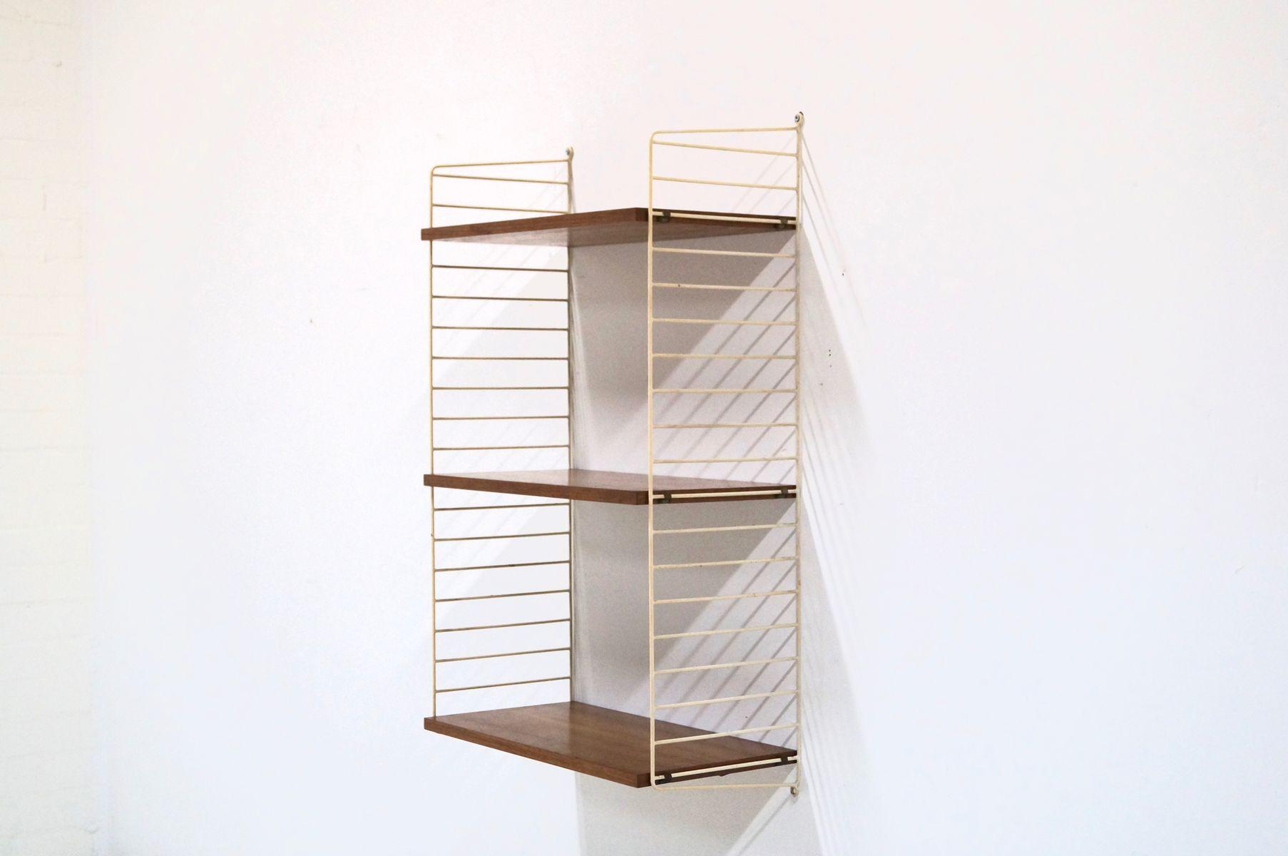 Teak Ladder Shelf Wall Unit By Kajsa & Nils Nisse